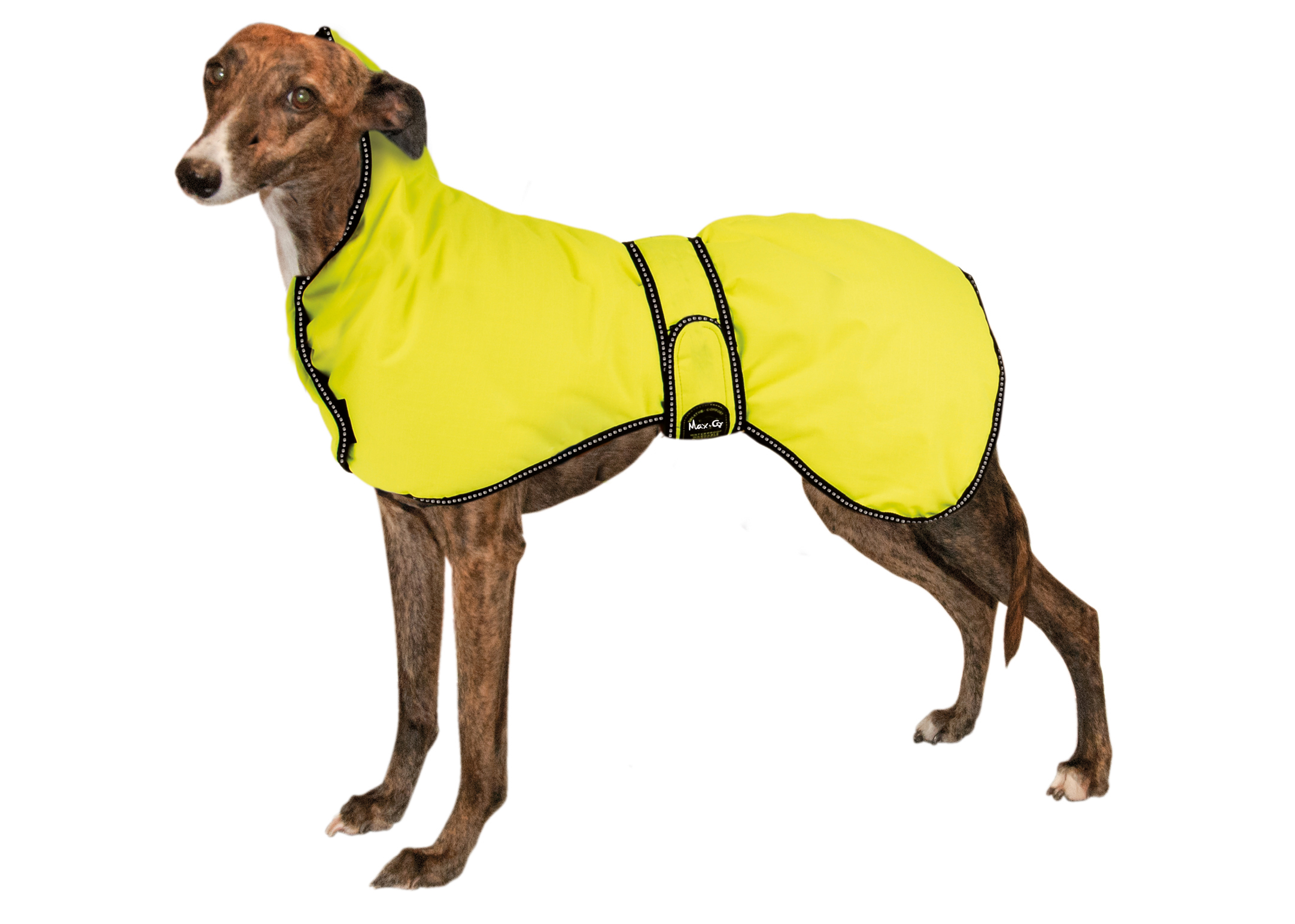 """Max+Co All Weather Dog Coat""""Slim Fit"""" High Visibility"""