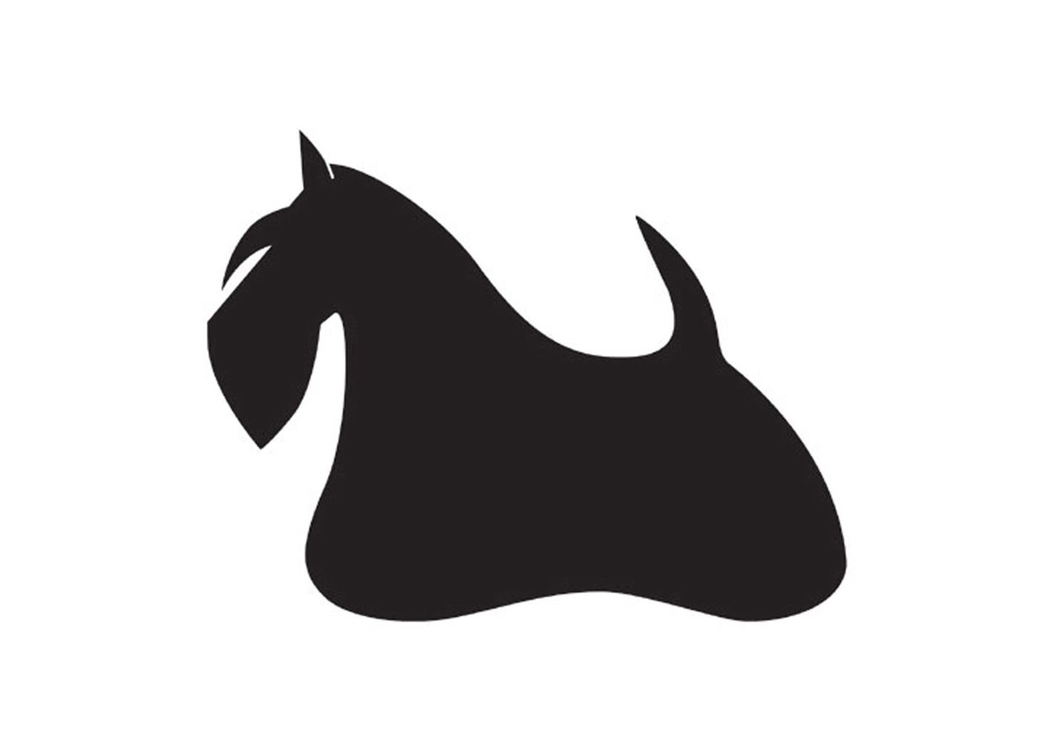 K-design Scottish Terrier Sticker For Groomers