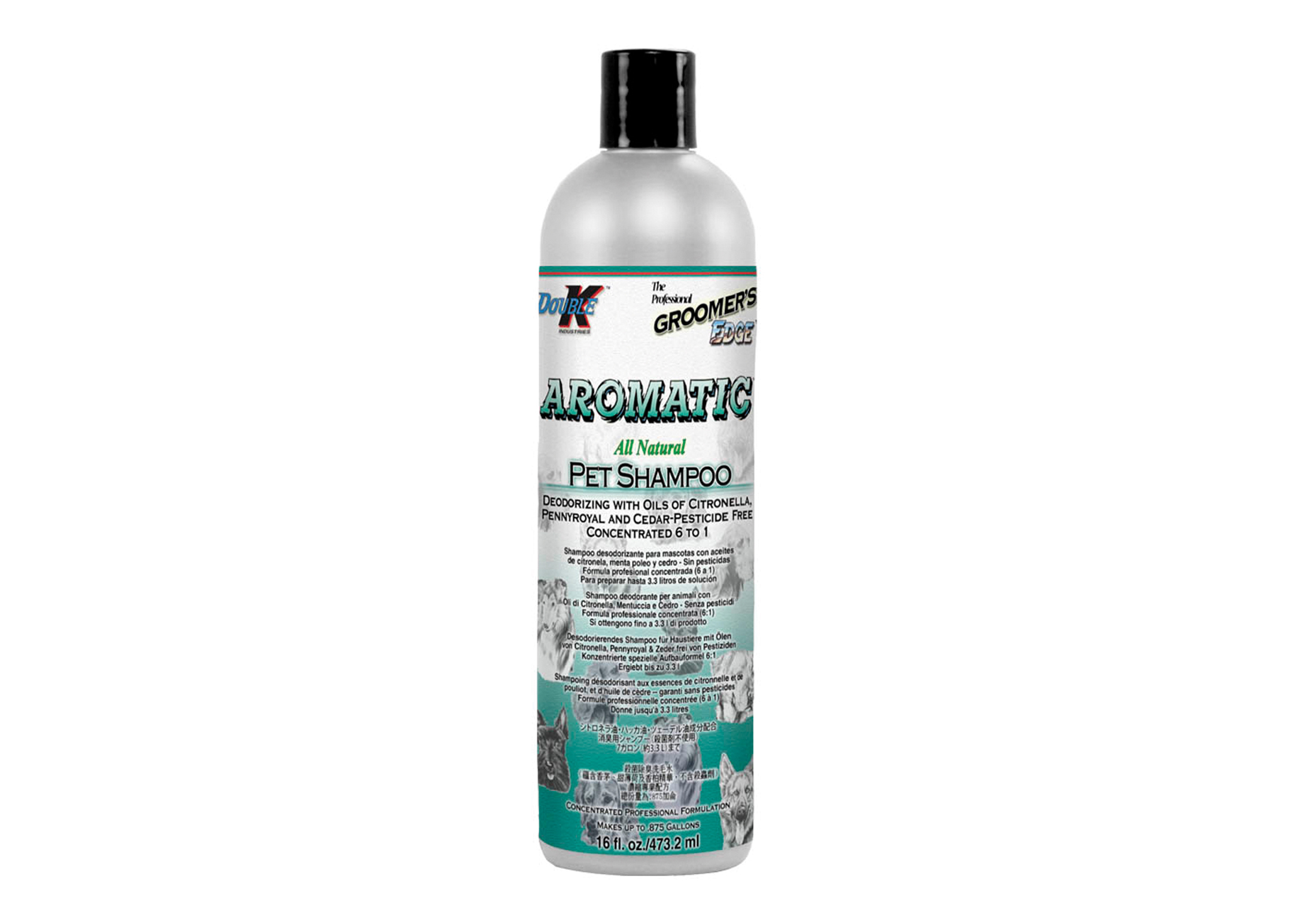 Double K Aromatic Shampooing Pour Chiens, Chats et Chevaux