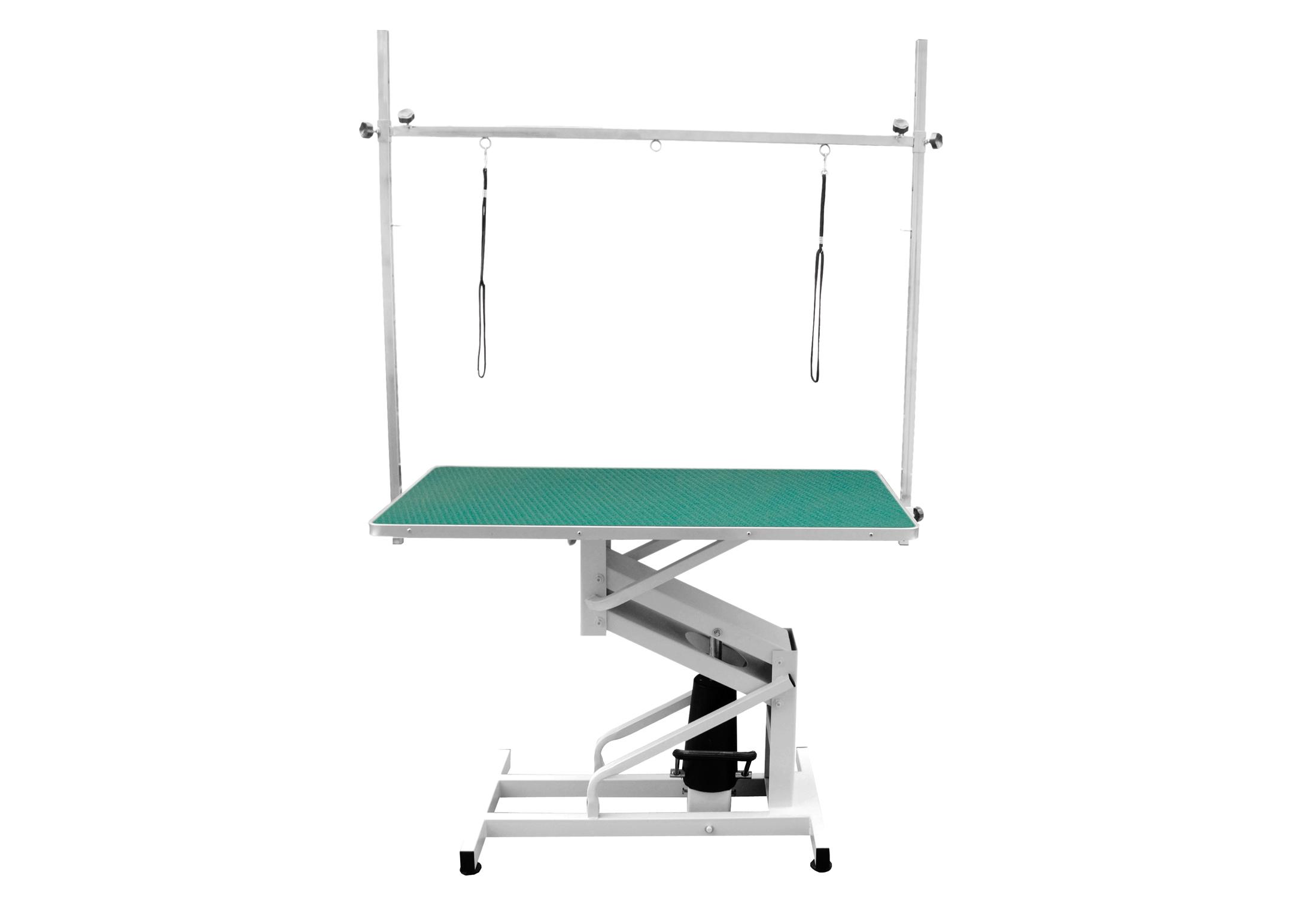 Groom-X Hydraulic Table Green 110x60x50-97cm Professional Grooming Table