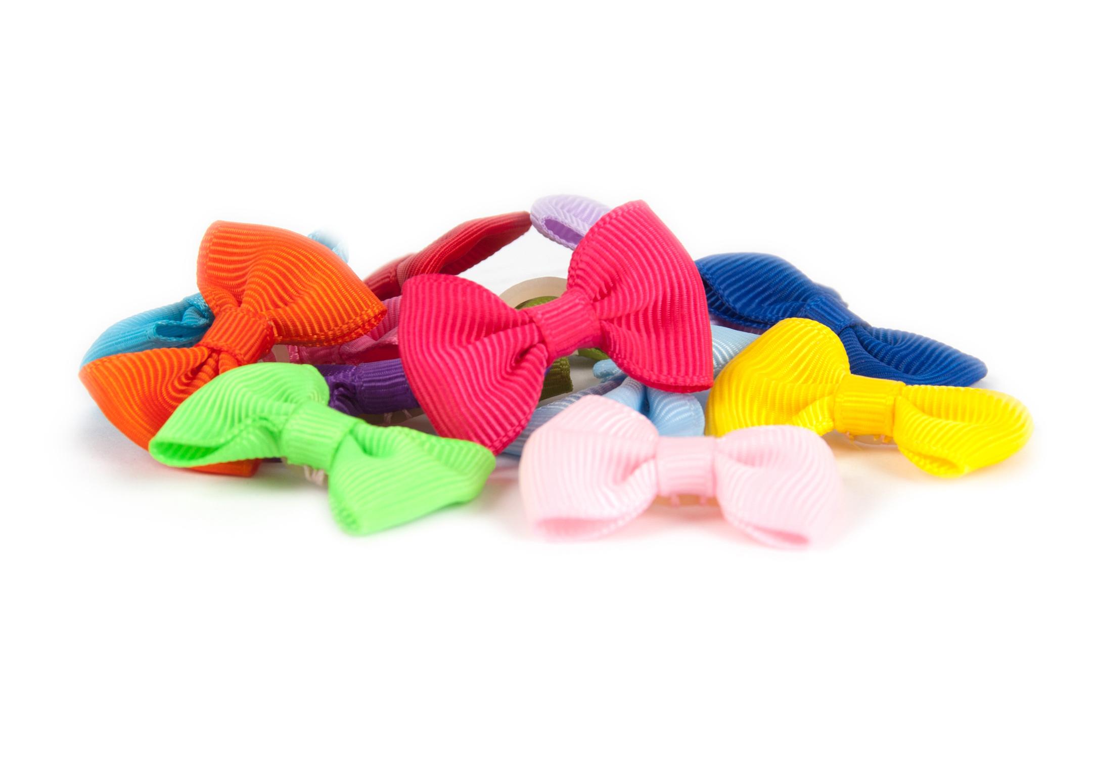 Show Tech Multicolor Noeuds avec Elastique 50 pièces Noeuds