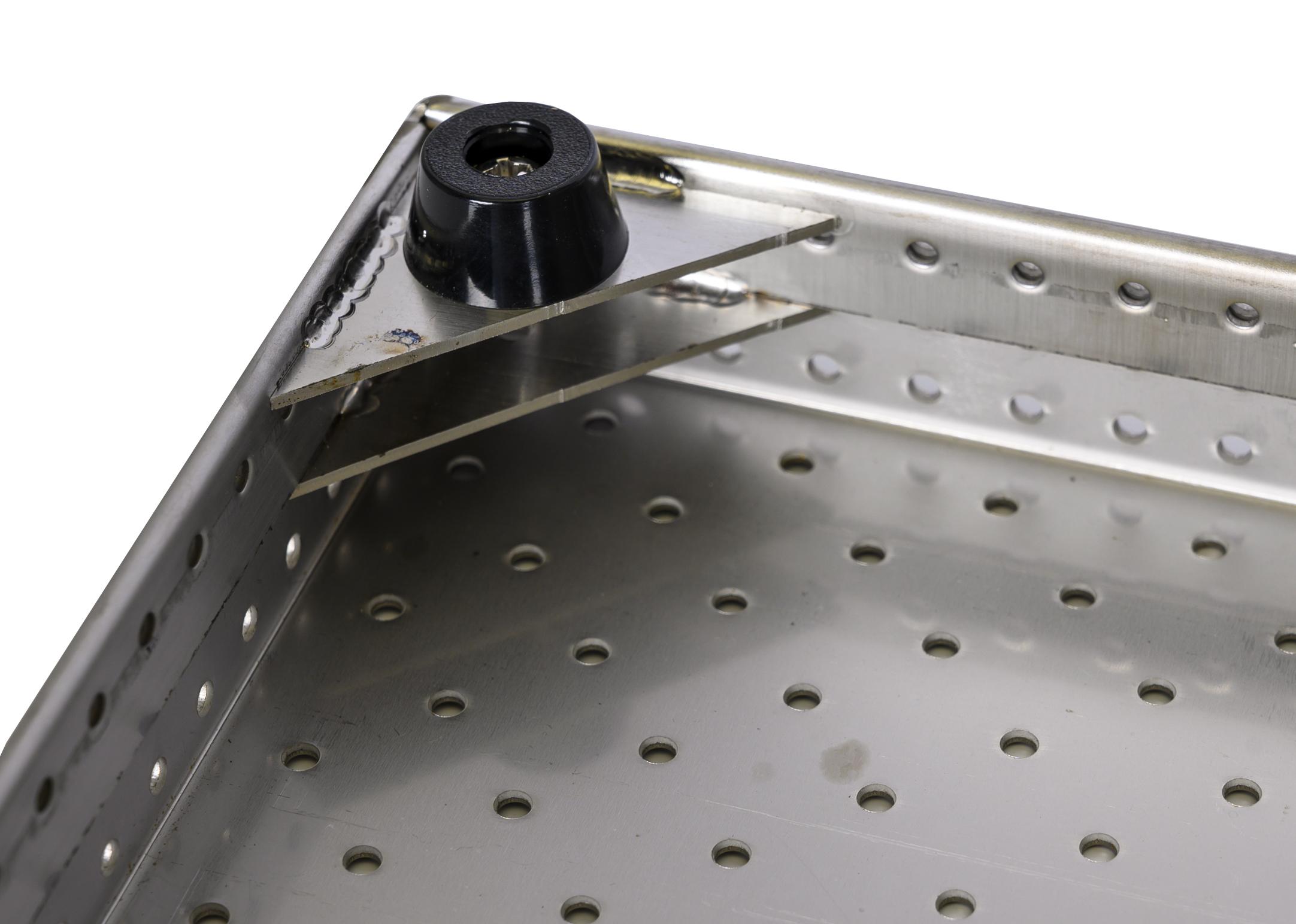 Groom-X Bath Grid Stainless Steel 85x50x3cm