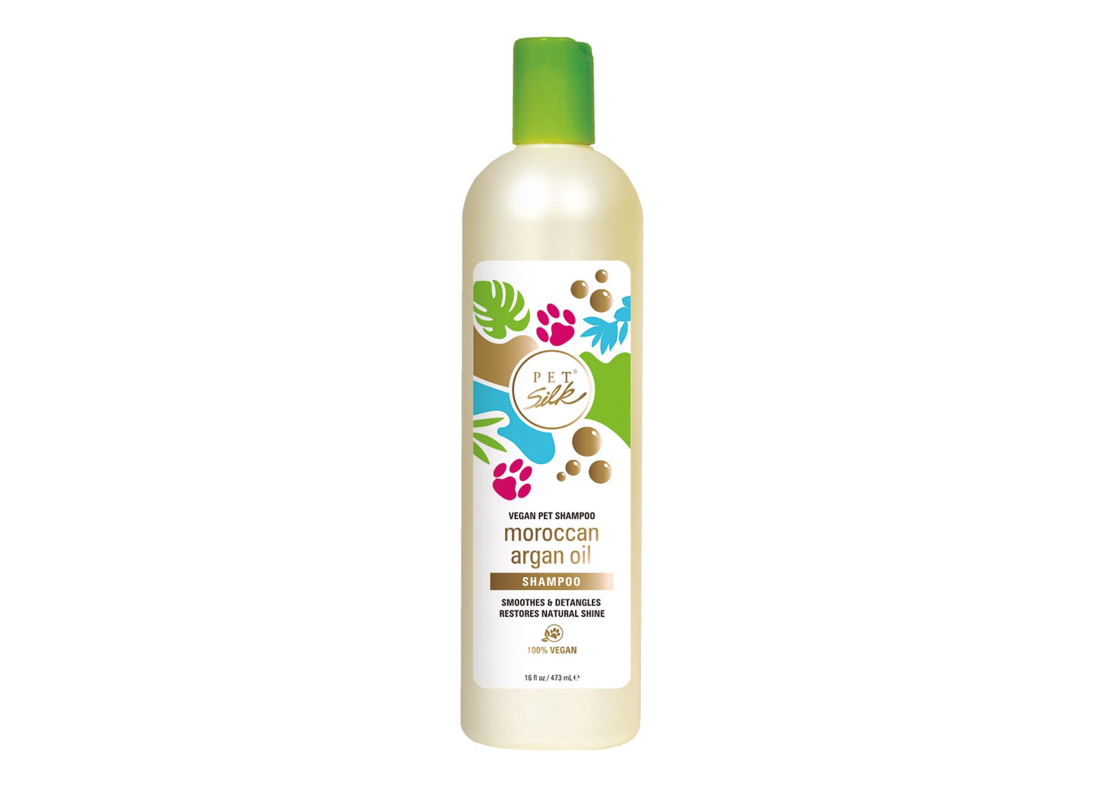 Pet Silk Vegan Moroccan Argan Oil Shampoo