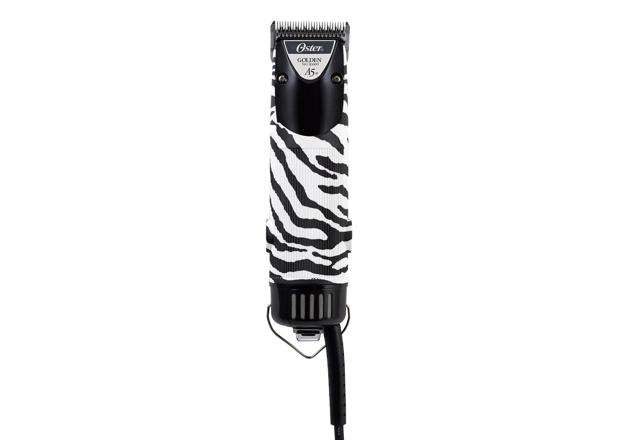 Oster A5 Twin Speed Limited Edition Zebra Corded Clipper