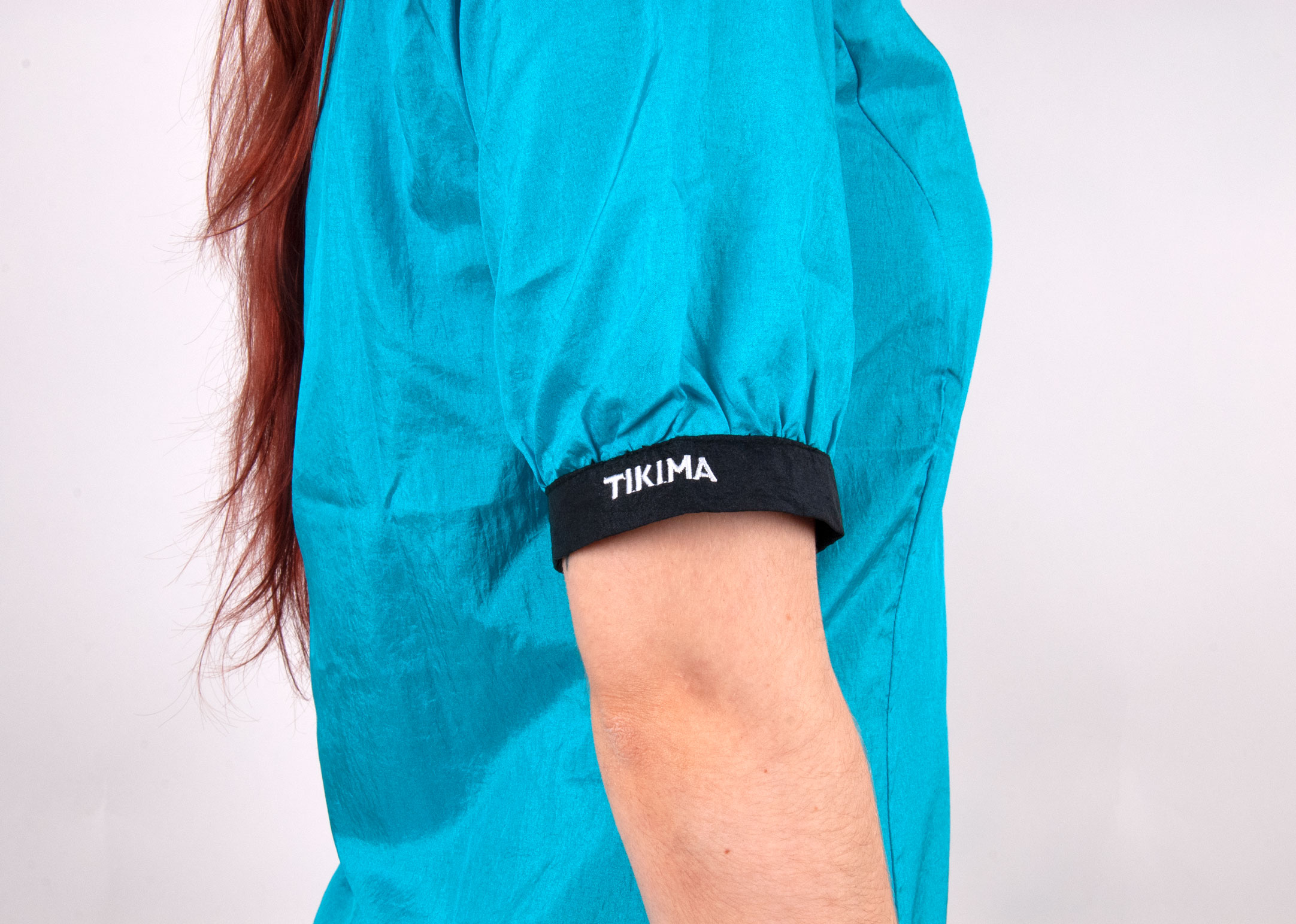 Tikima Alicia Shirt S  Turquoise