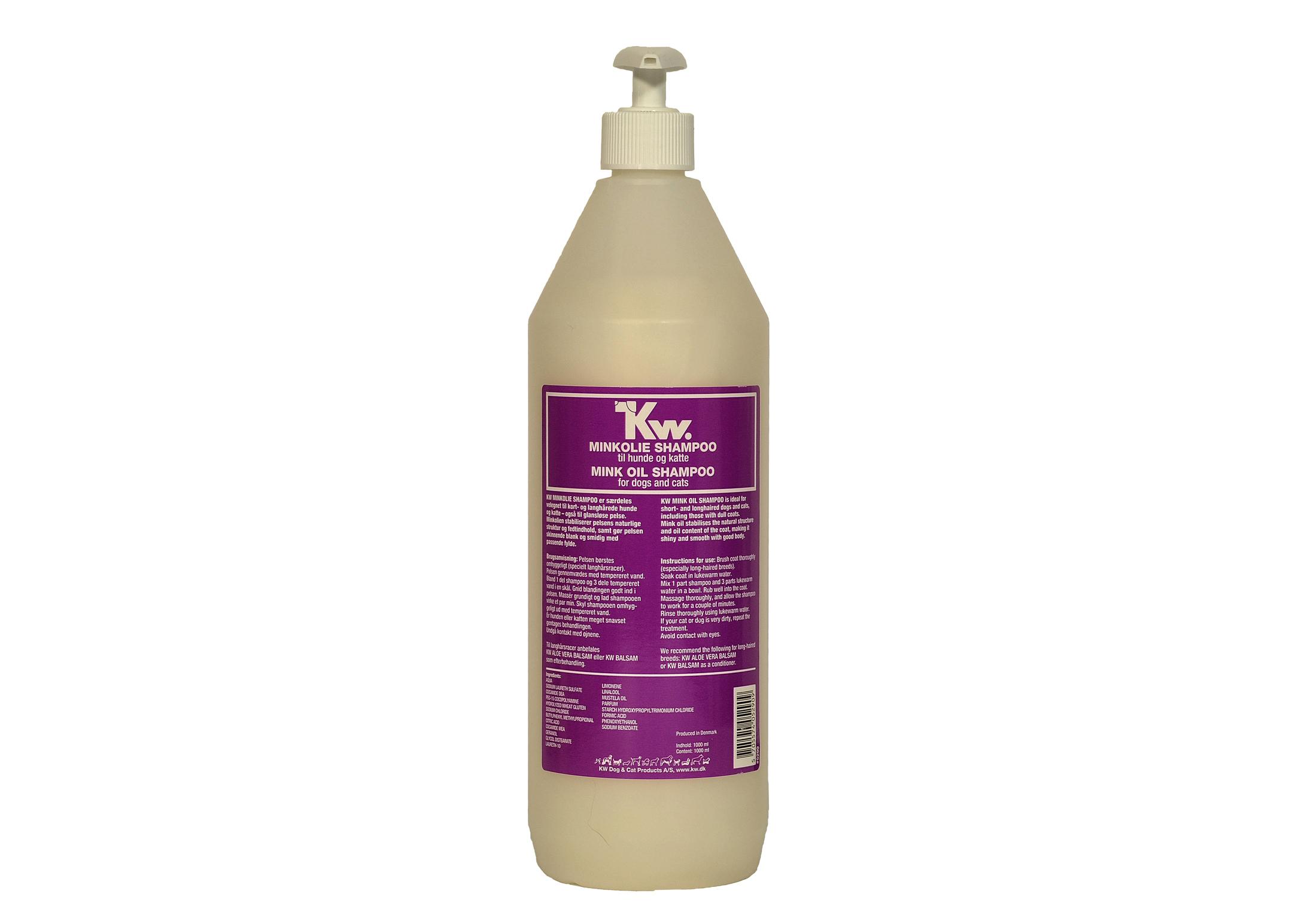 KW Mink Oil Shampooing 1L