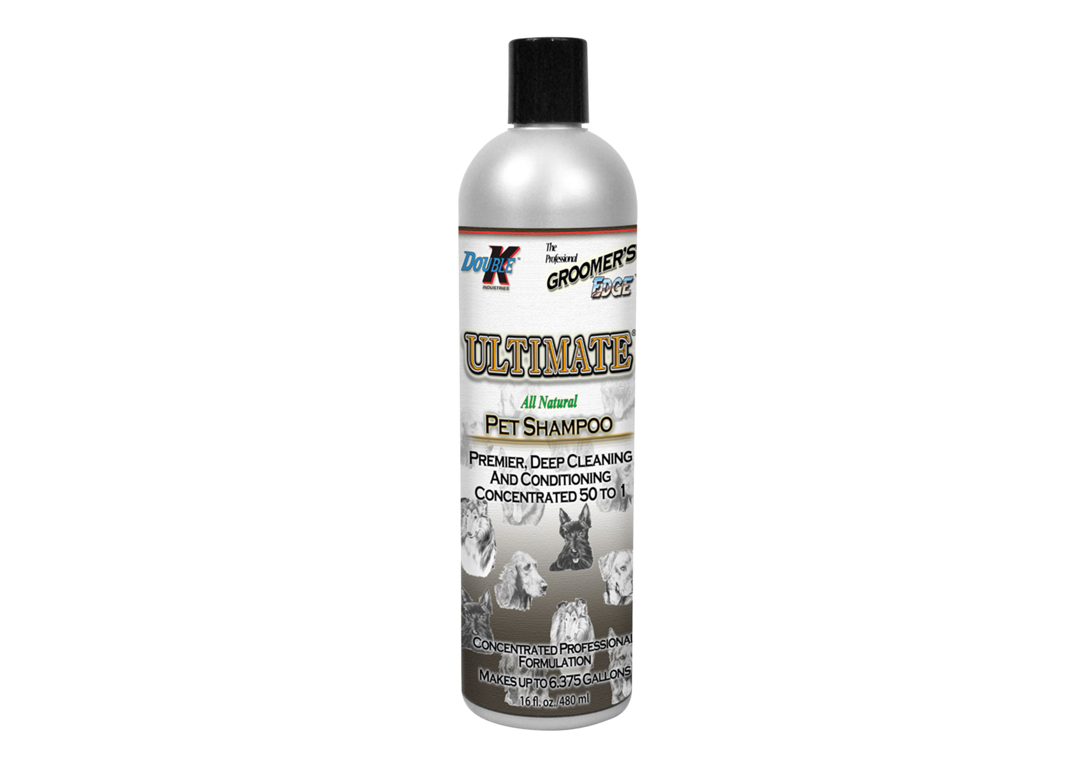 Double K Ultimate Shampoo For Dogs, Cats And Horses