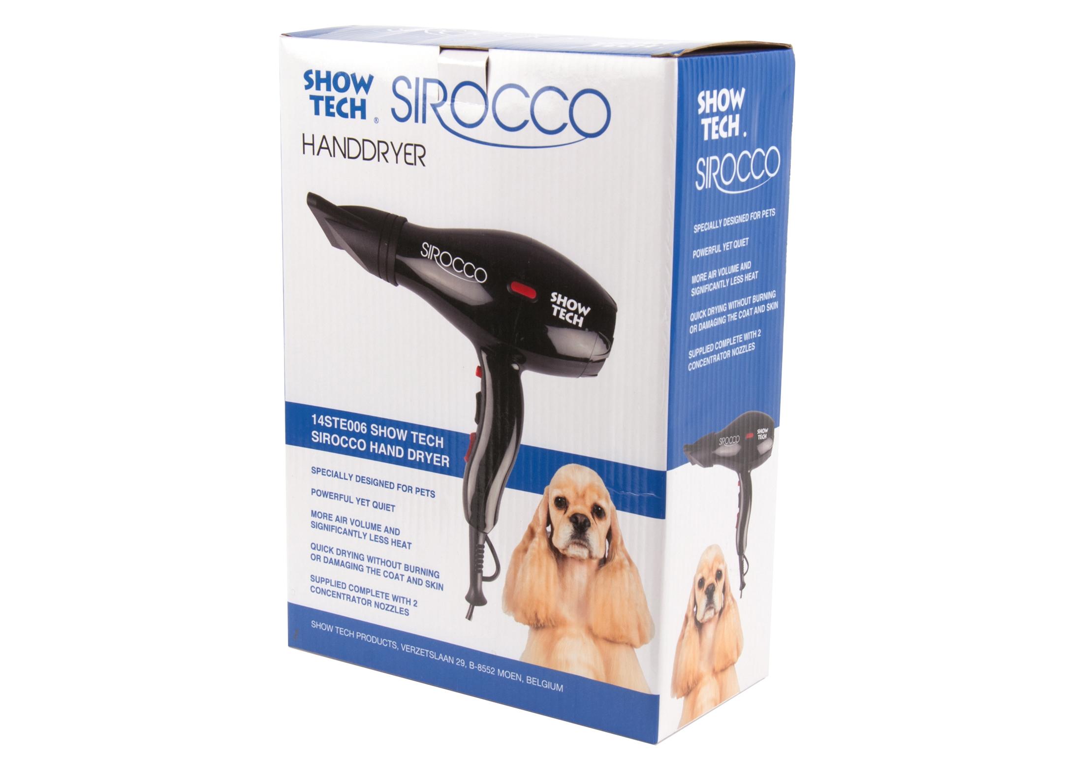 Show Tech Sirocco Hand Dryer Hair Dryer