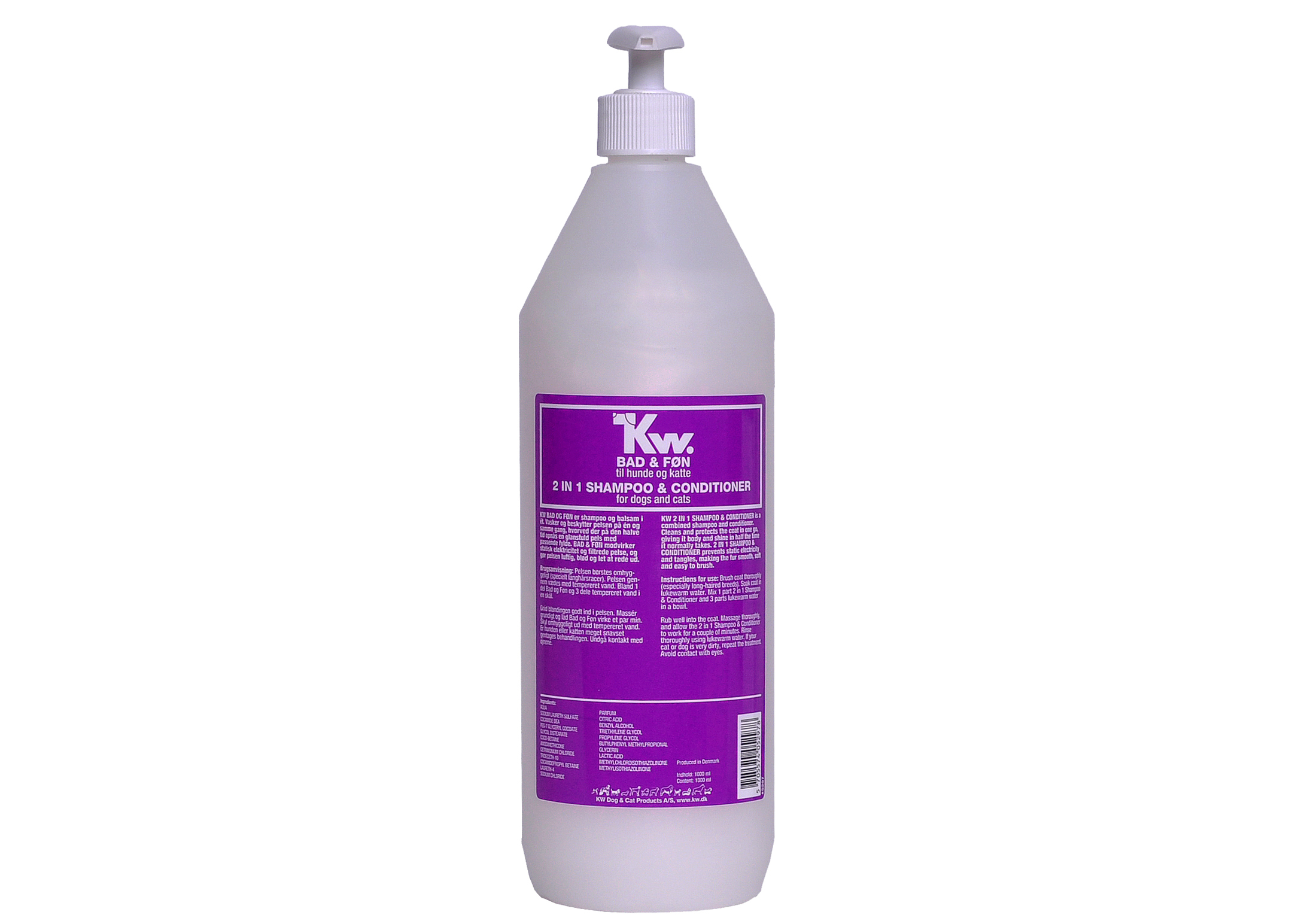 KW 2 in 1 Shampooing 1L