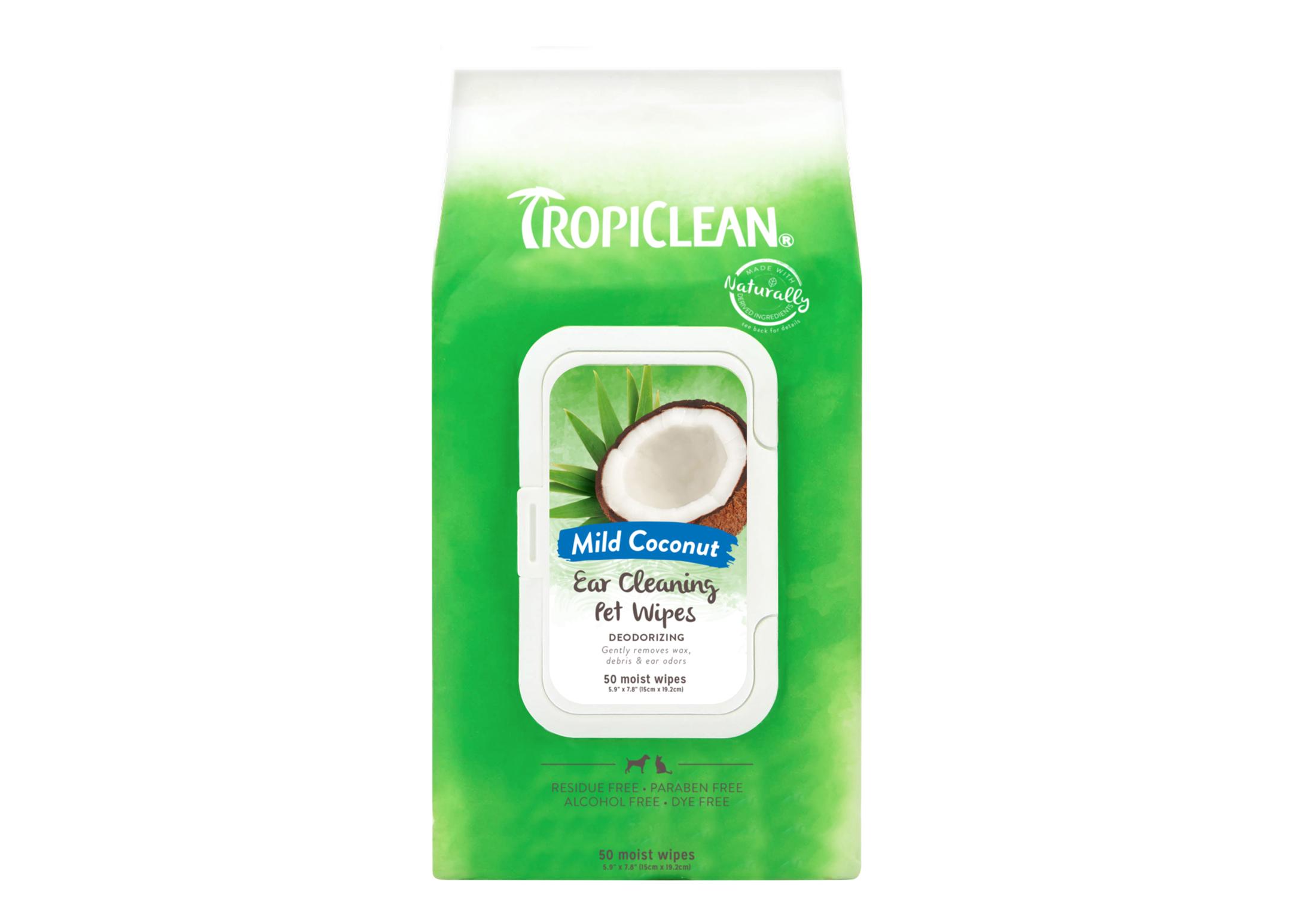 Tropiclean Ear Cleaning Wipes 50 Stuks