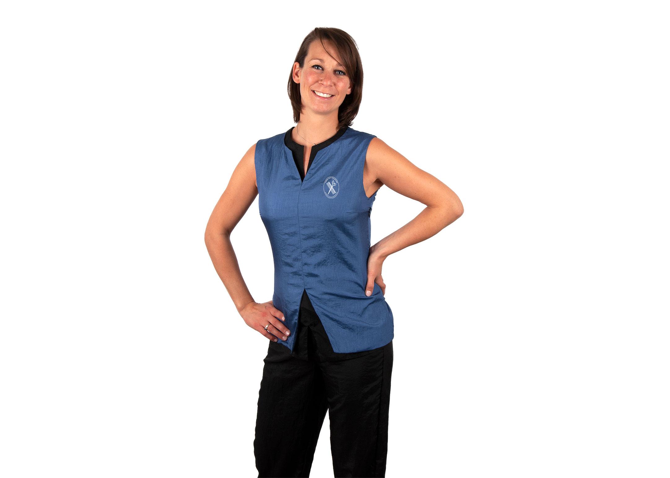 Tikima Belina Shirt S Turquoise