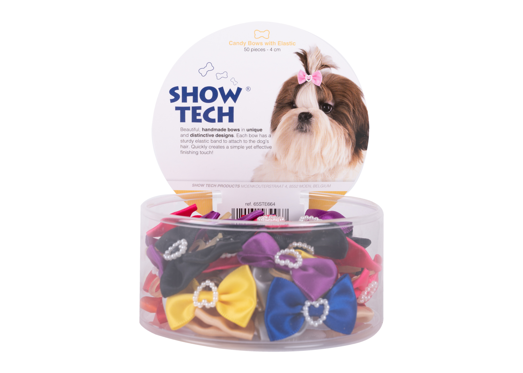 Show Tech Candy Bows with Elastic 50 pcs Bows