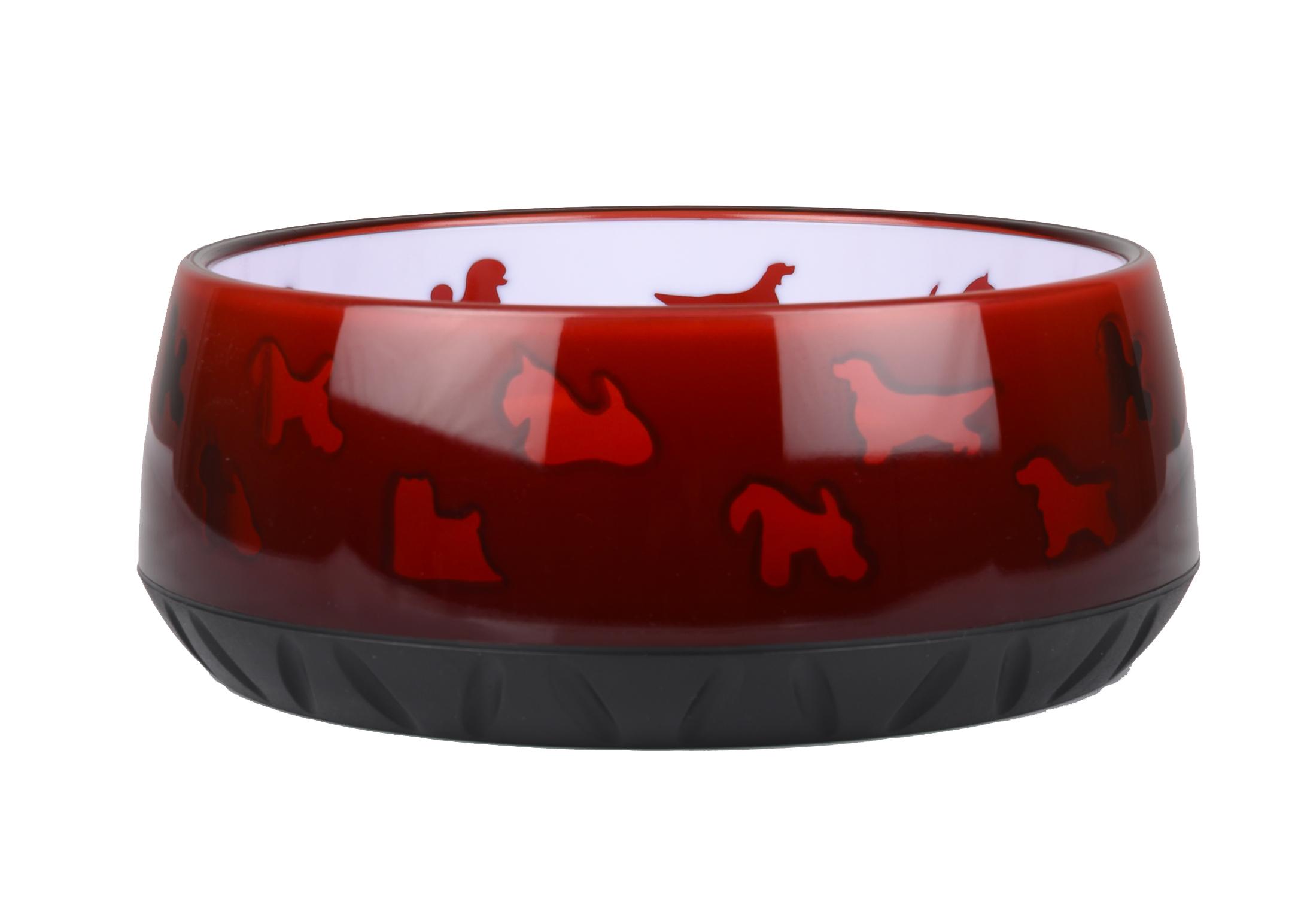 Show Tech K-Design Anti-Slip Bowl Red Large 21,6cm - 1,8L