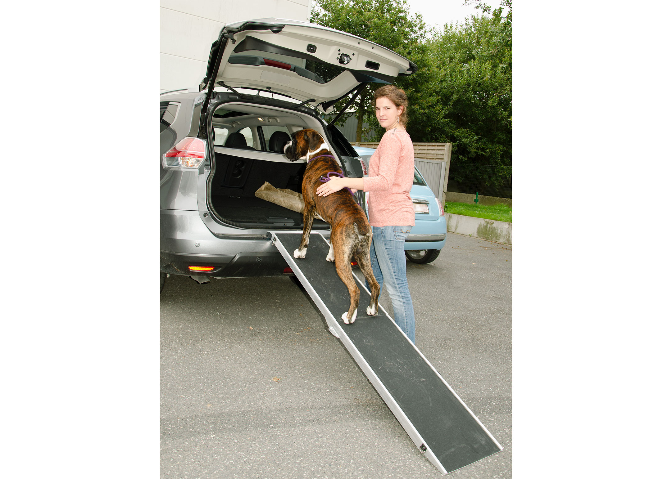 Travel Aluminium Pet Ramp 38cm wide - Extends 91,5-183cm