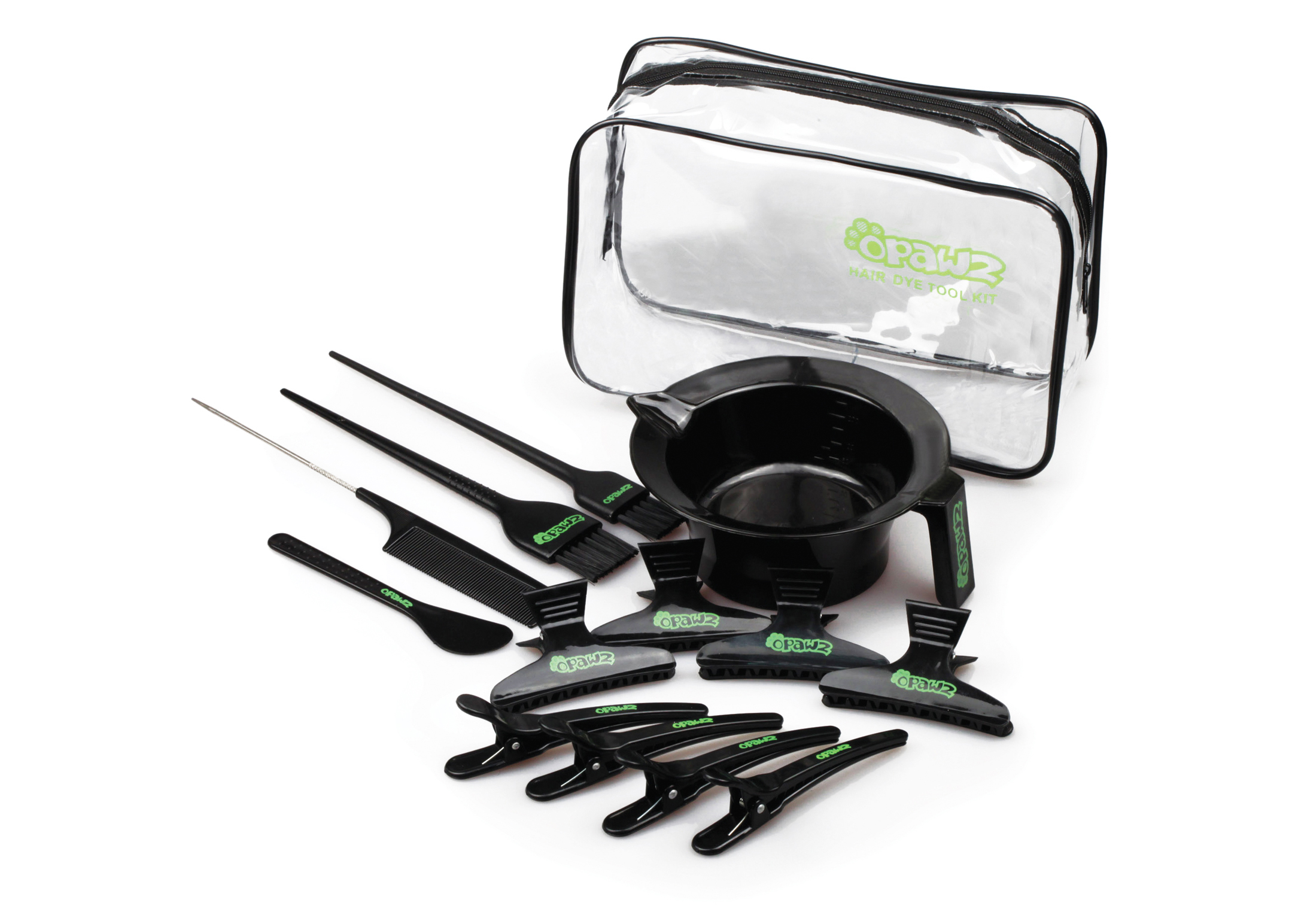 Opawz Hair Dye Tool Kit 14pcs