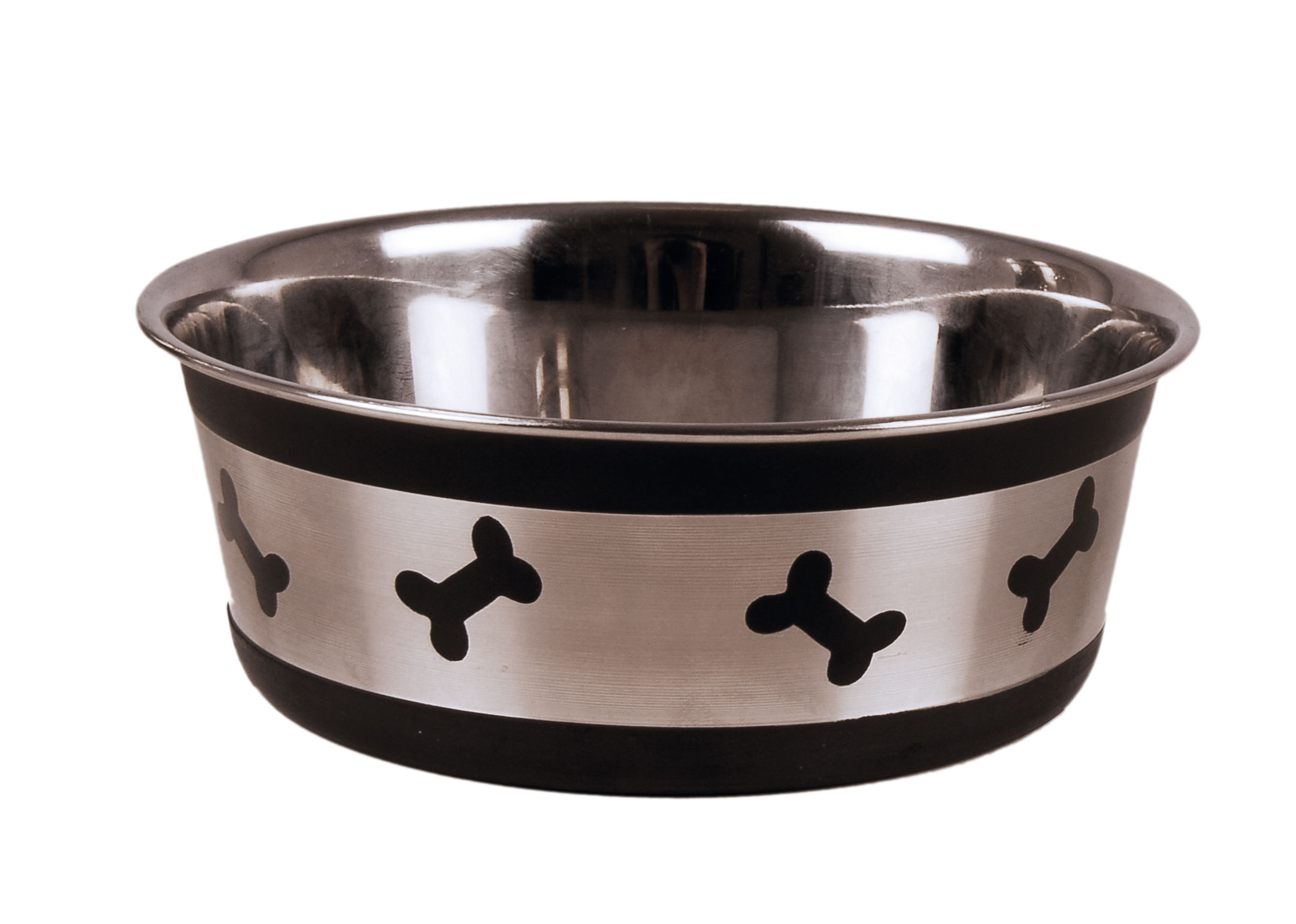 Show Tech Shiny Diny Pet Bowl Black Feeding Bowl For Dogs