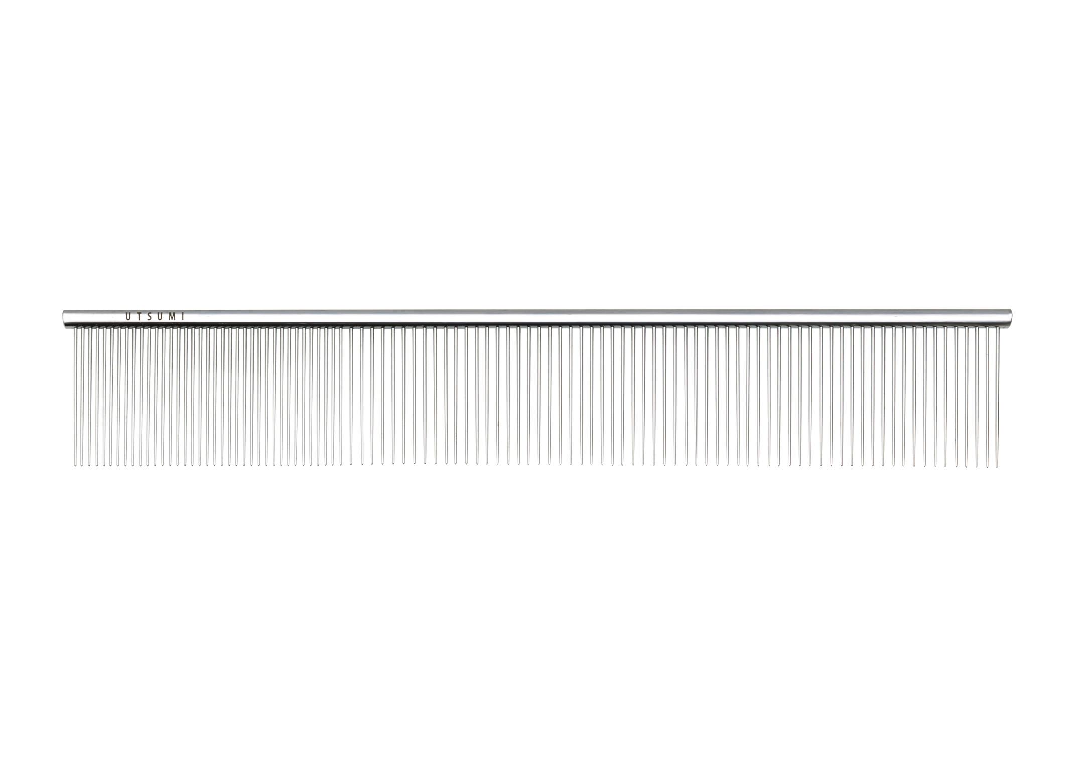 Utsumi U&U Wide Quarter SS Comb 23cm Comb