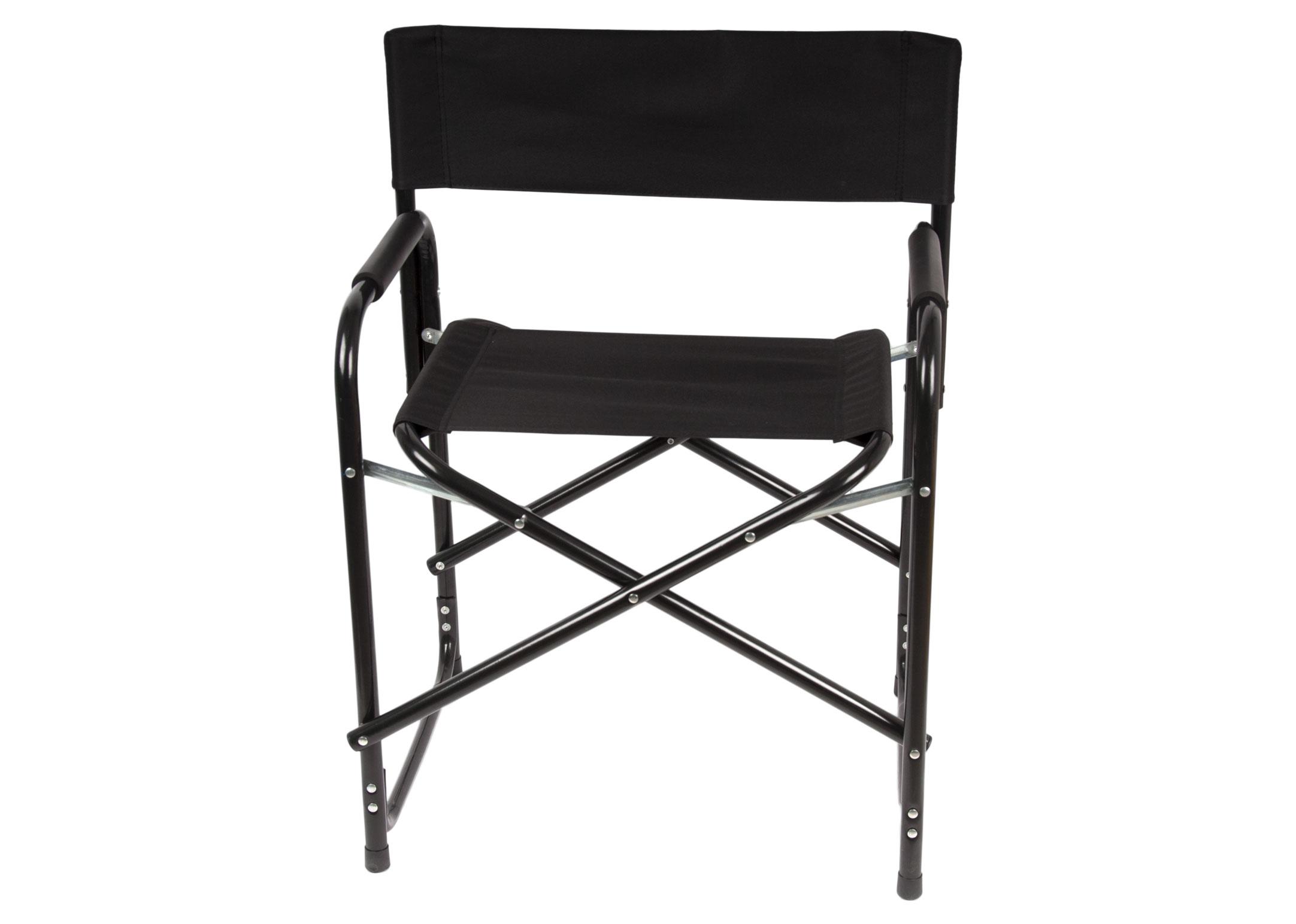 Show Tech Folding Directors Chair Black for Shows