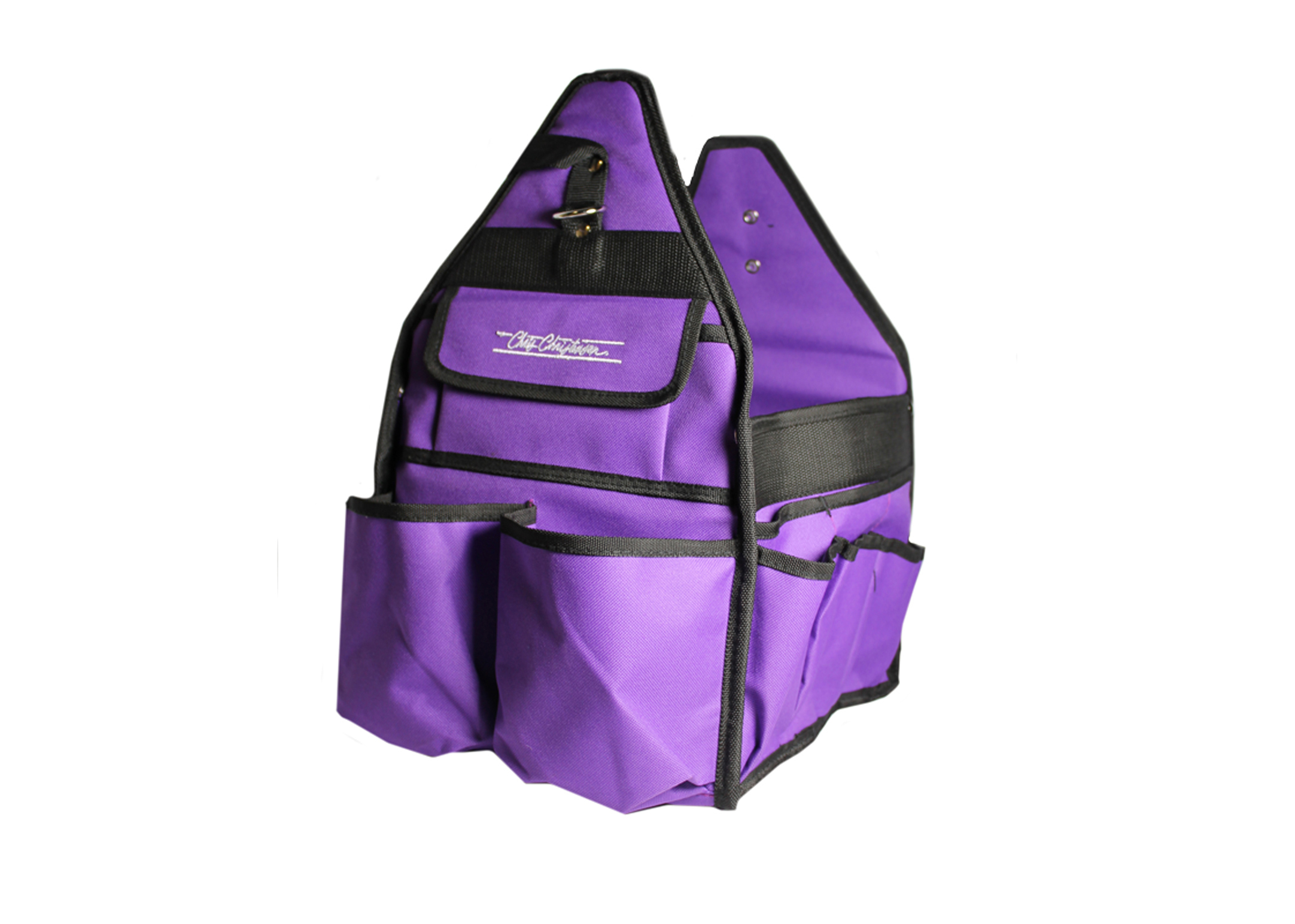 Chris Christensen Systems Small Grooming Tote Purple Travel Case