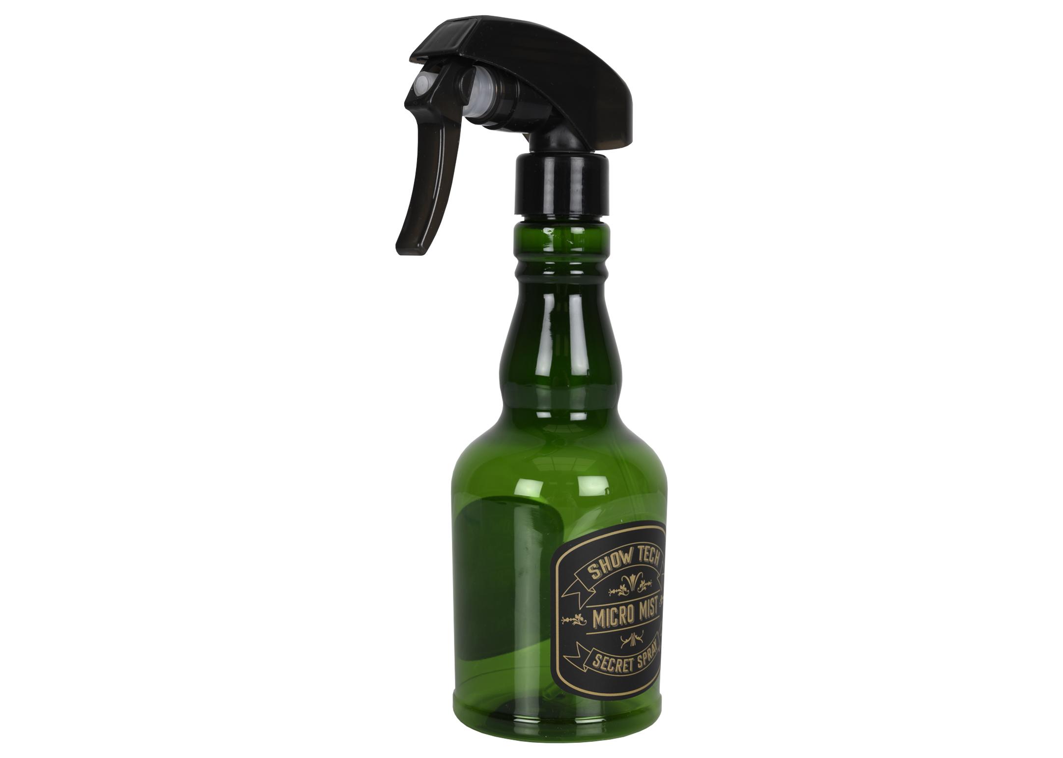Show Tech Exclusive Salon Micro Mist Bottle Green 150ml