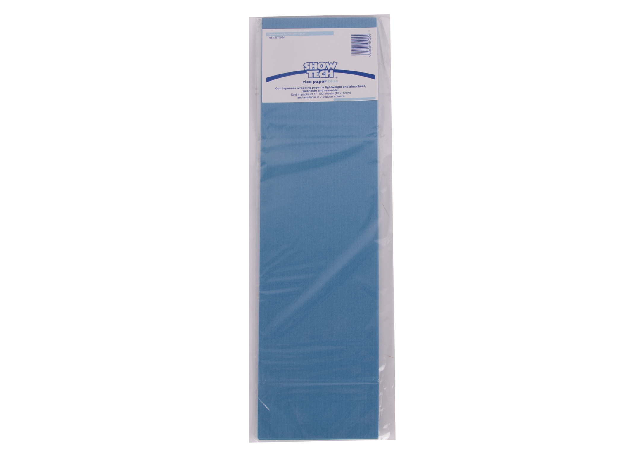 Show Tech Rice Paper Blue 100 pcs Wrapping Paper