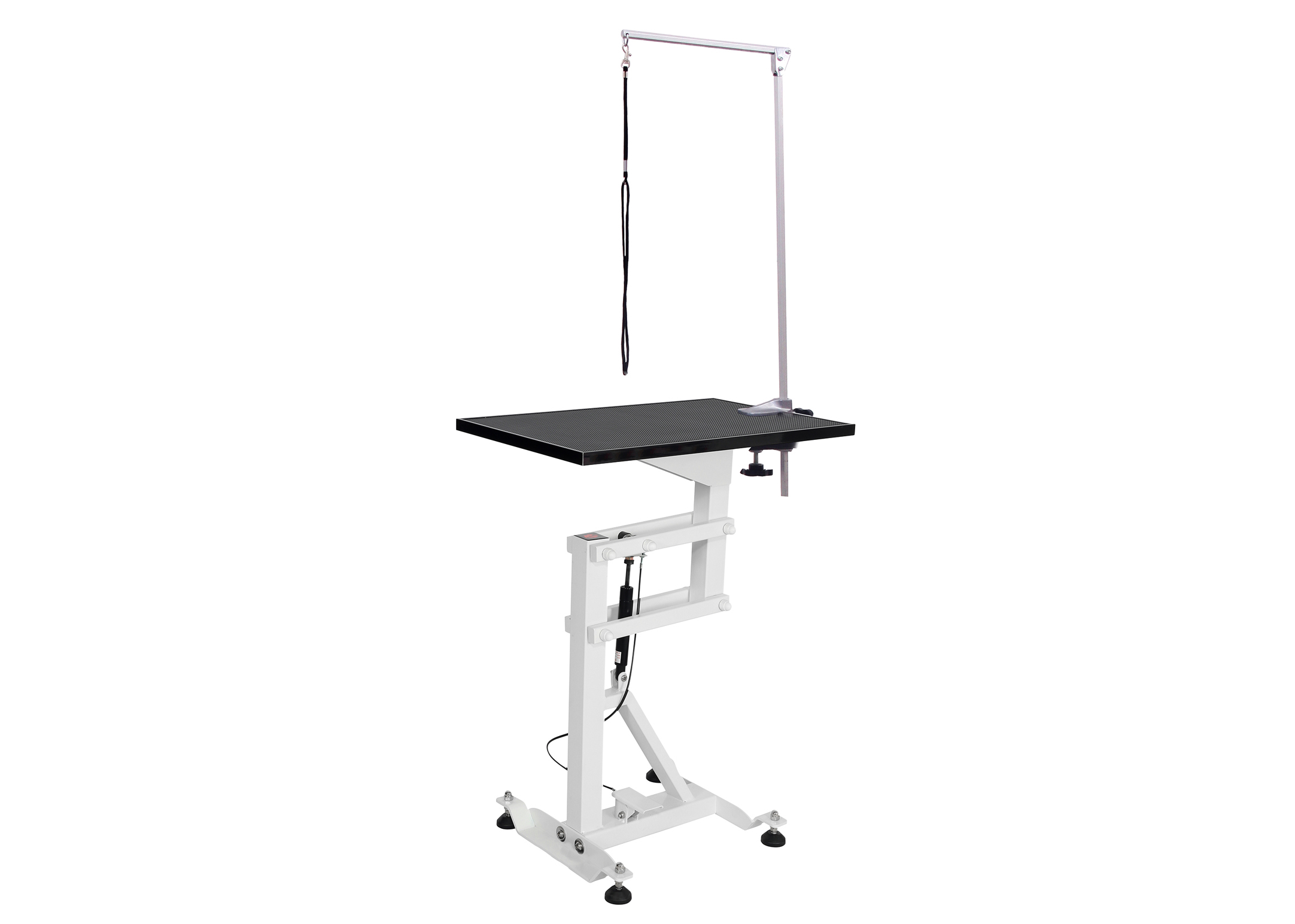 Groom-X Compact Air Lift Grooming Table Rectangular 60x40cmx80-120cmh with control post