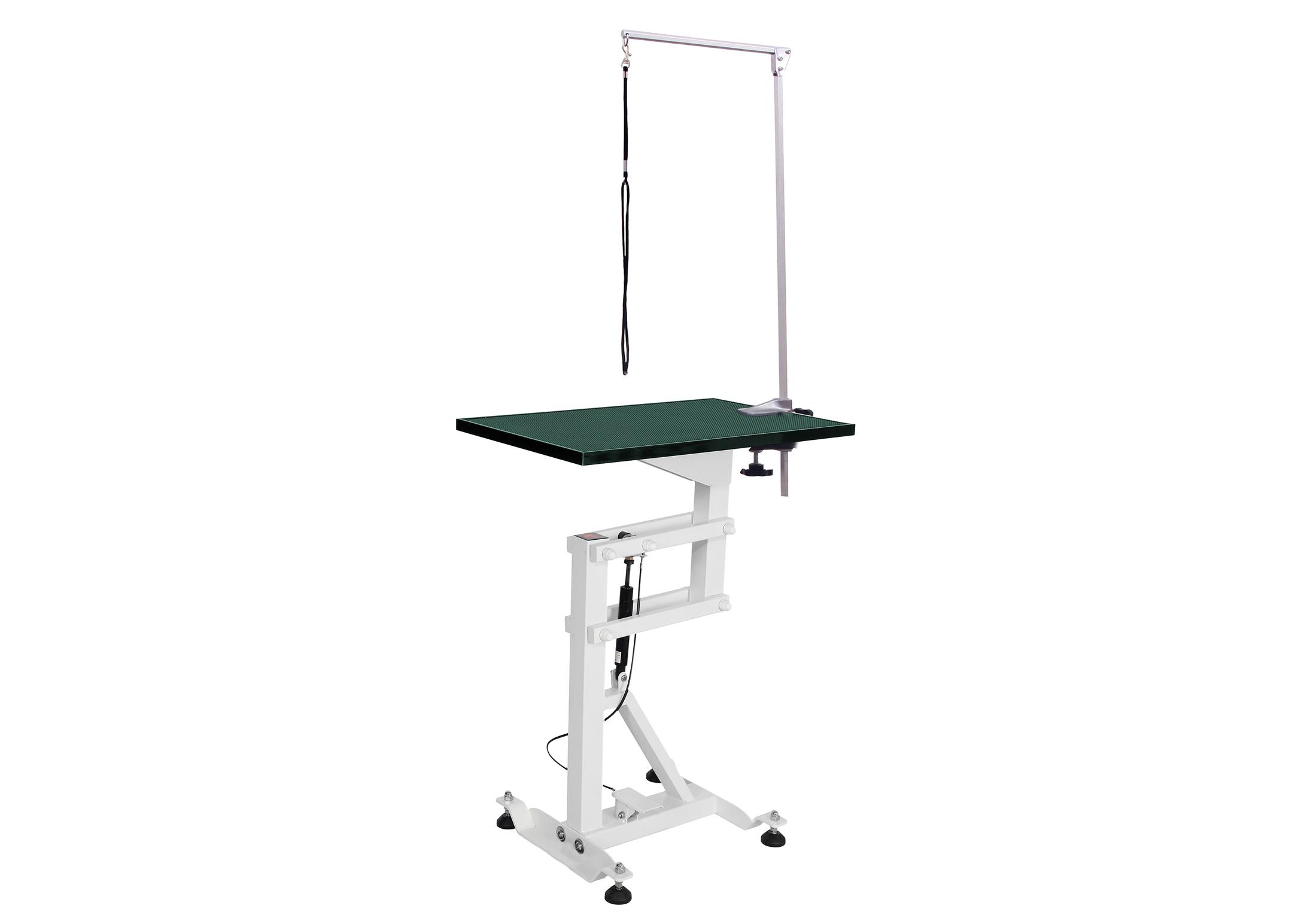 Groom-X Compact Air Lift Table de Toilettage Rectangulaire 60x40cmx80-120cmh avec Potence