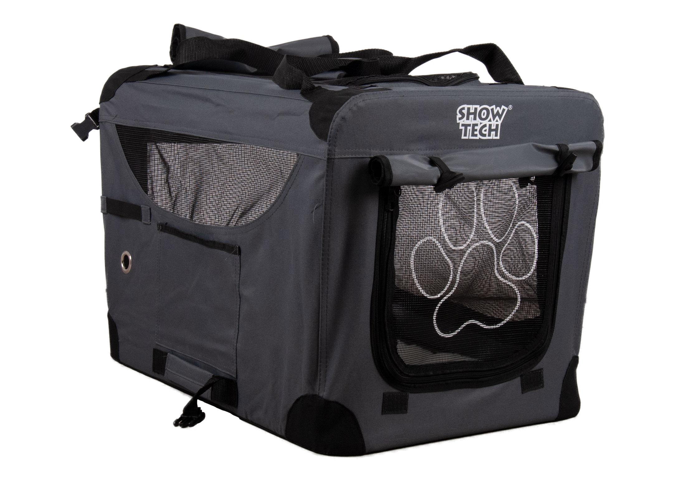 Show Tech Easy Crate Khaki x Black Size 00 - L49,5xW34,5cmxH35cm Traveling Crate