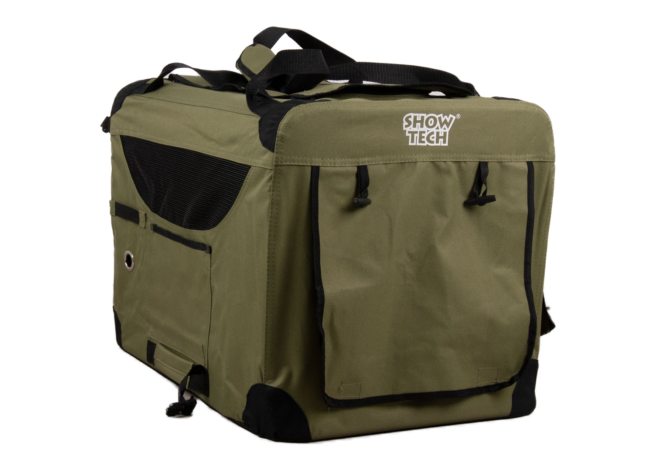 Show Tech Easy Crate Khaki x Black Traveling Crate