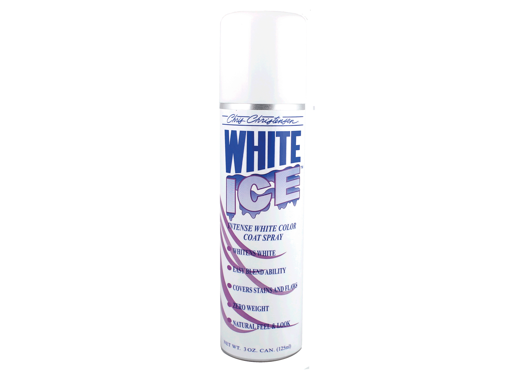 Chris Christensen Systems White Ice Spray 85 gr Spray Blanc