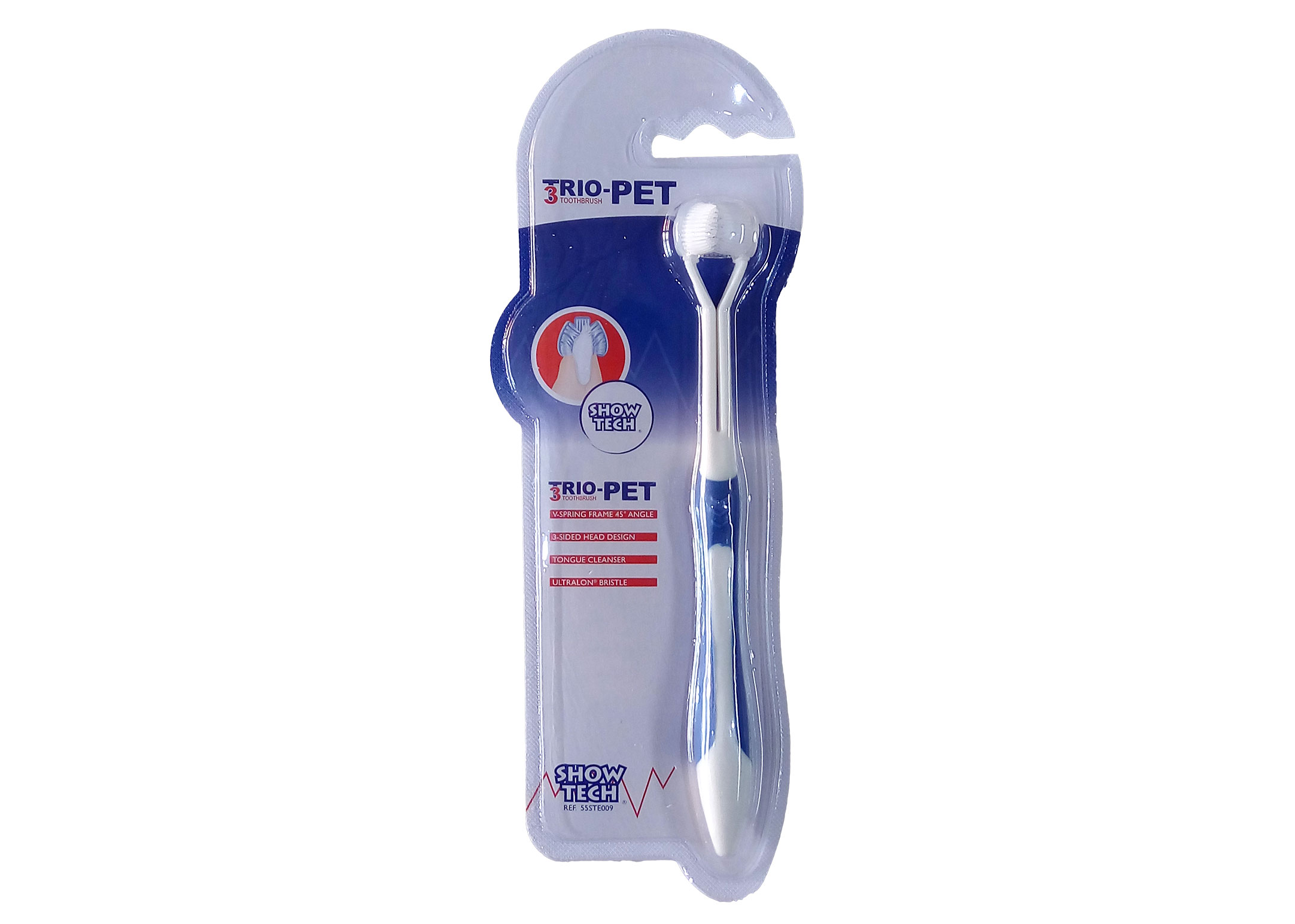 Show Tech Trio-Pet Toothbrush Teeth Cleaning Product