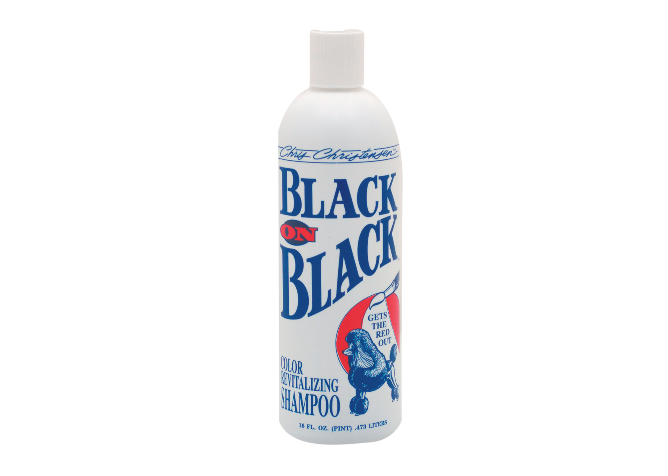 Chris Christensen Systems Black on Black Shampoo For Dogs, Cats And Horses