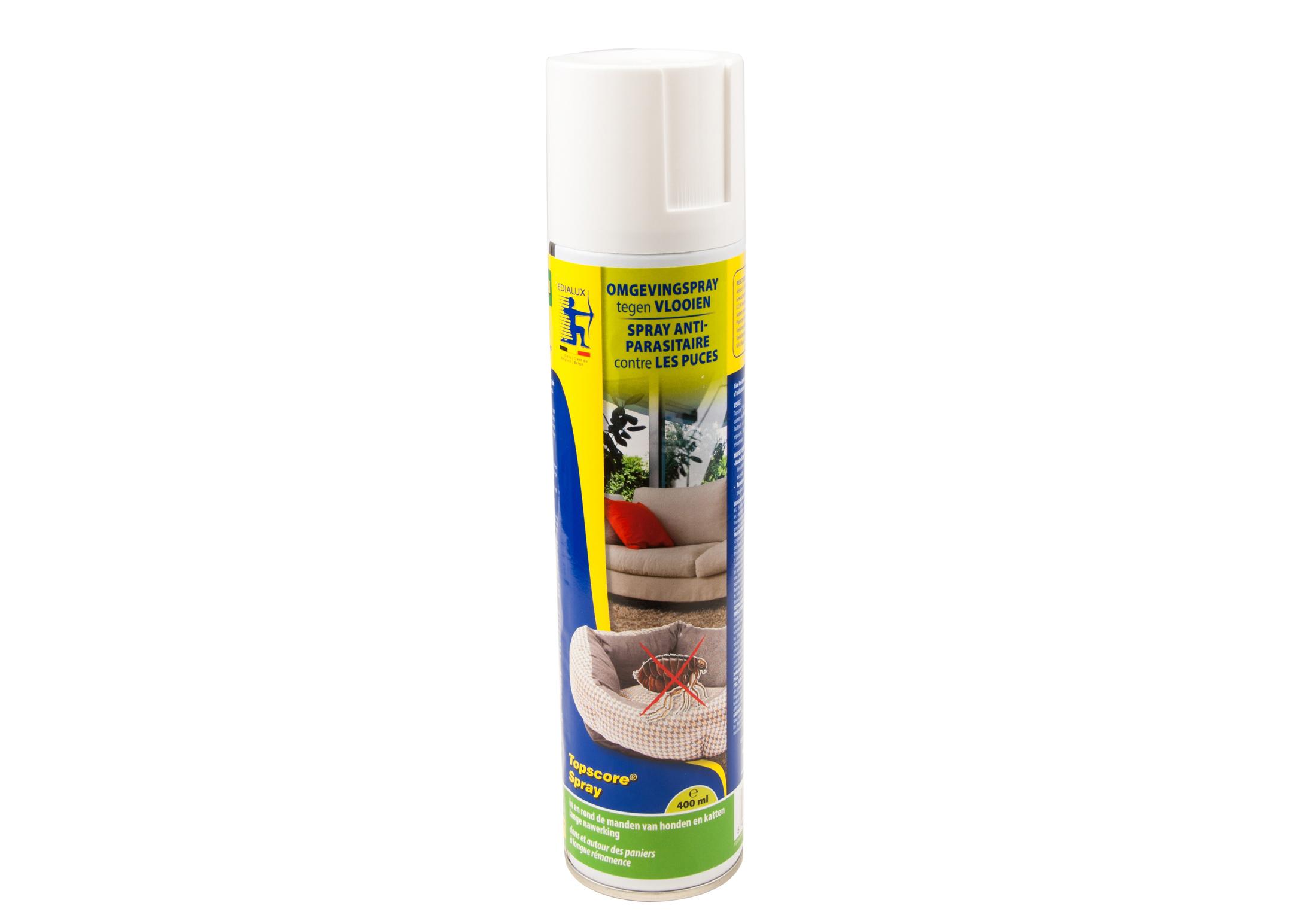 Edialux Topscore Antivlooien Spray 400 ml