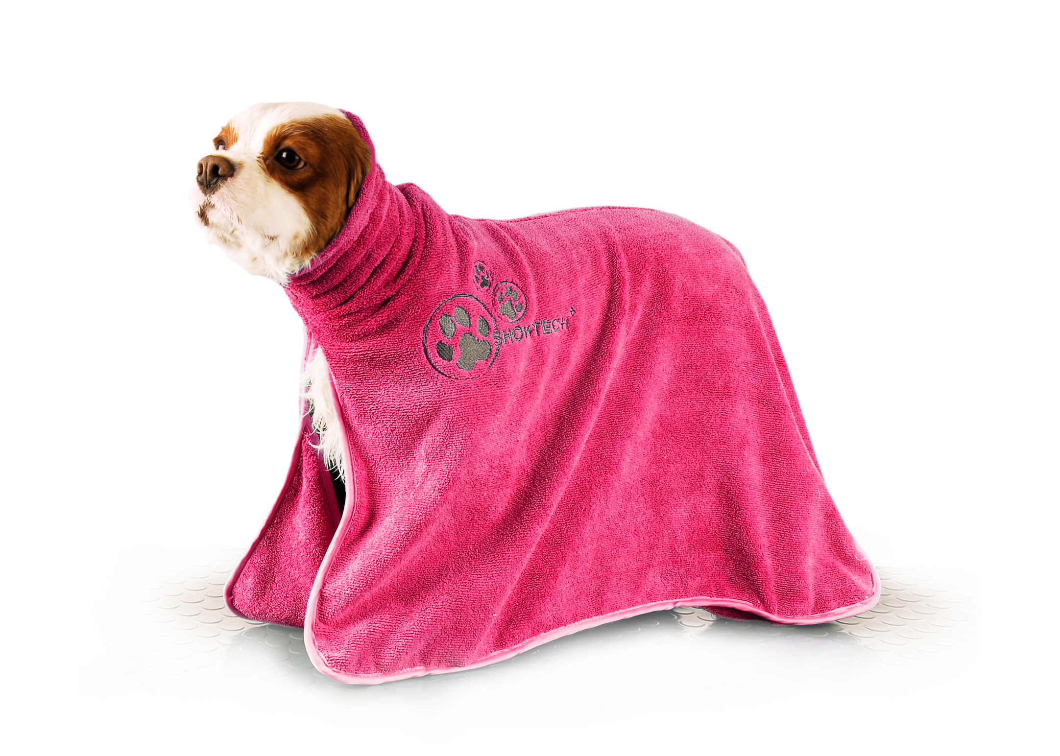 Show Tech+ Dry Dude Hot Pink Pet Towel For Dogs And Cats