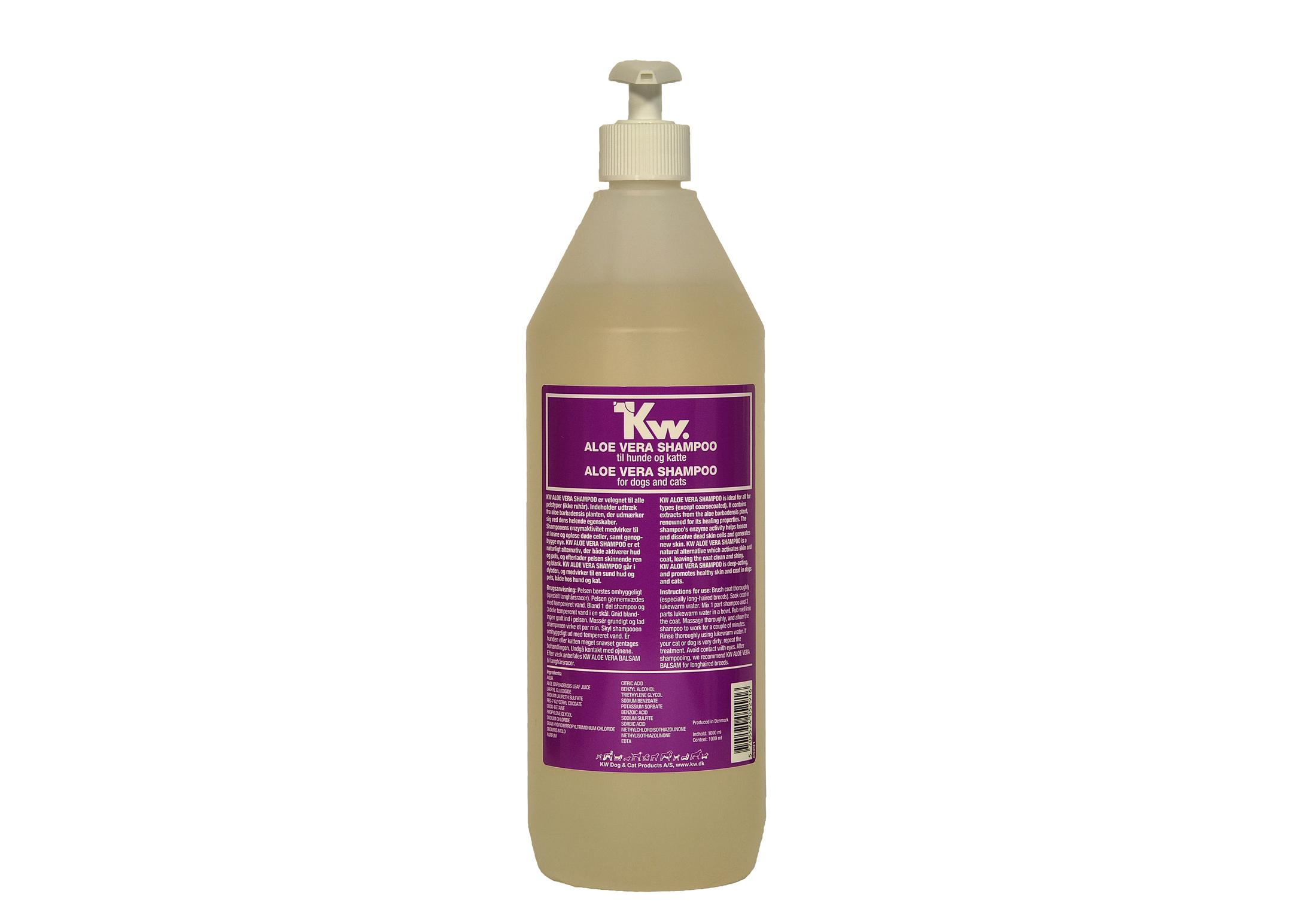 KW Aloe Vera Shampoo 1L