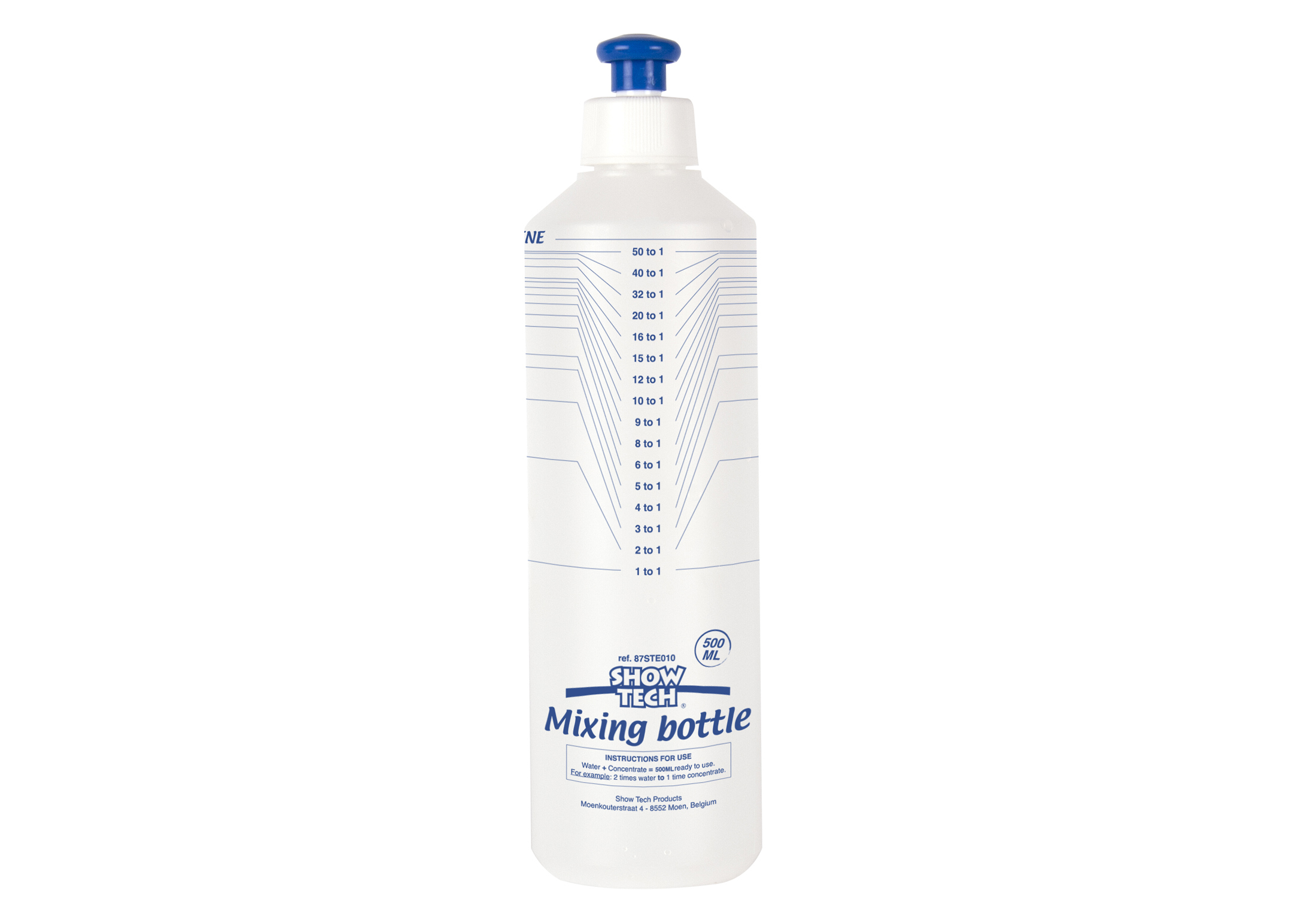 Show Tech Mixing & Dispensing Bottle 500ml Measuring Bottle