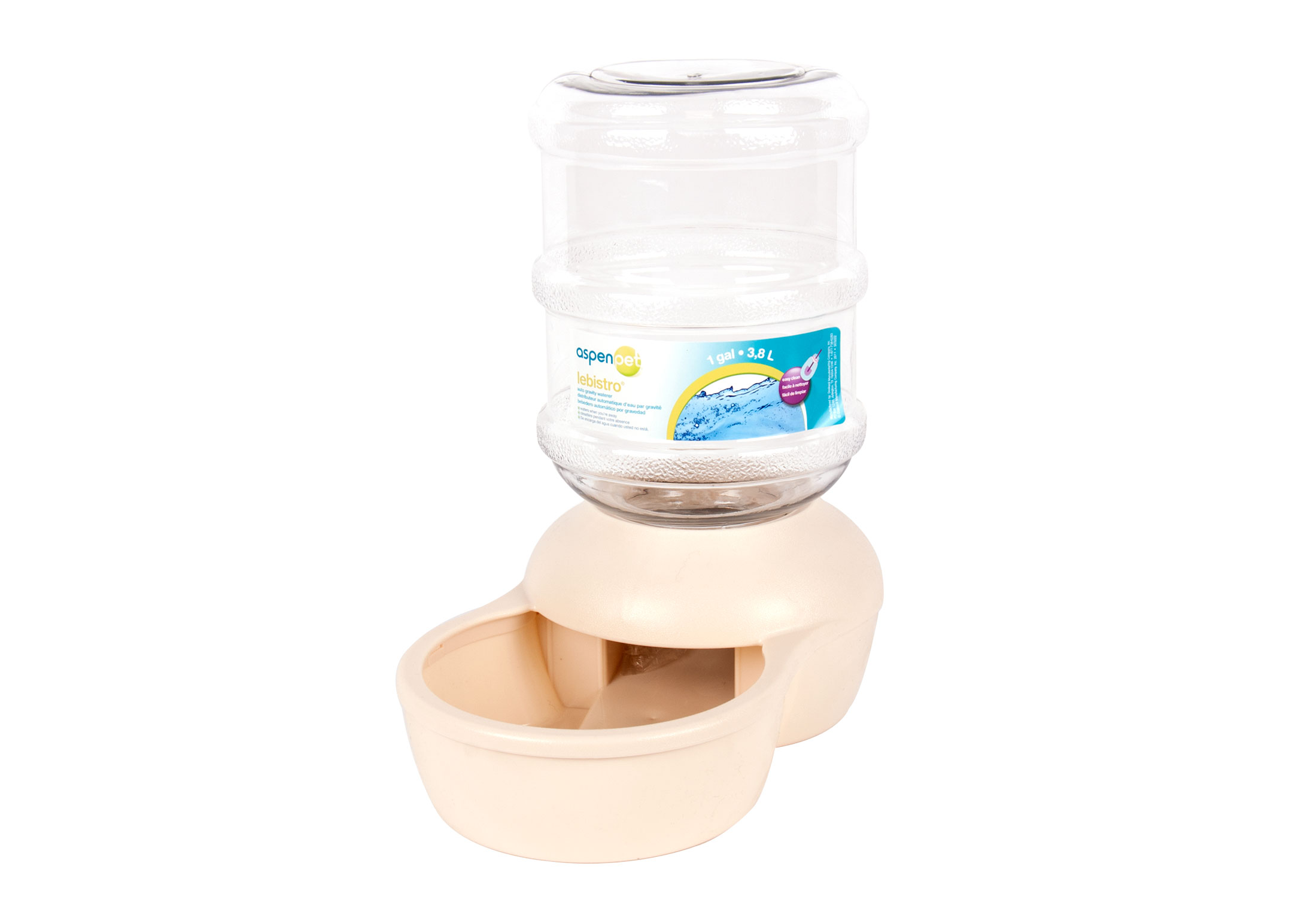 Le Bistro Waterer Water-Food Dispenser For Dogs And Cats