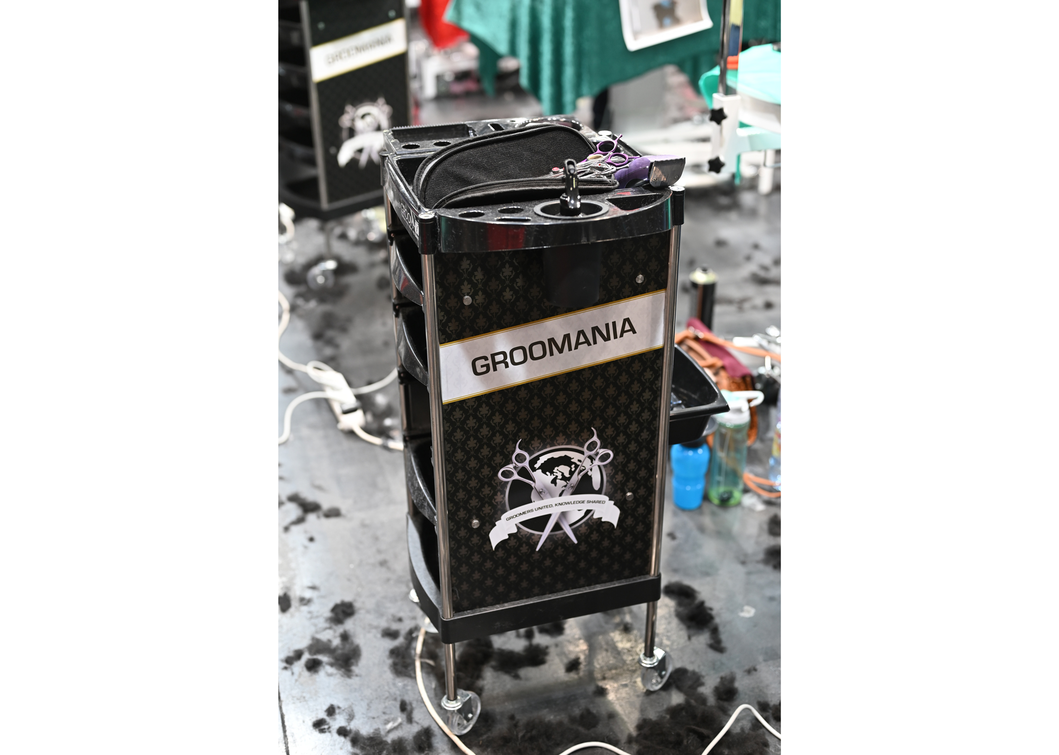 DEMO Groom-X Trolley Black Groomania - material cart