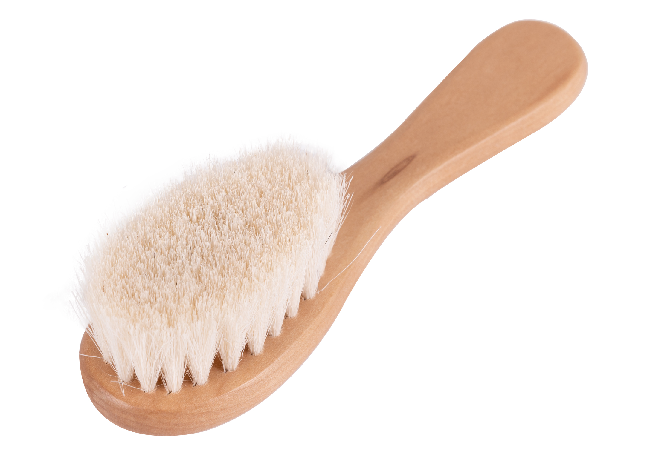 Show Tech Pure Goat Hair Brush Natural Wood 15cm