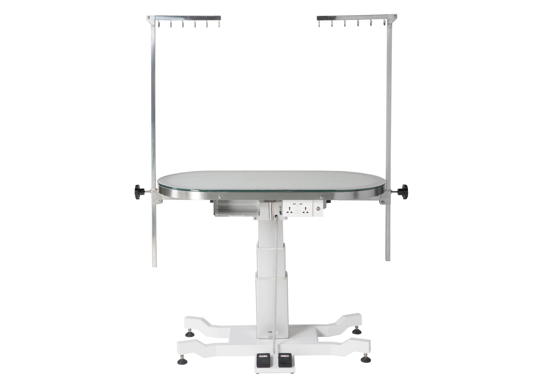 Groom-X Kitty's Table de Toilettage Tournante Electrique 120x60x61,5-102cmh