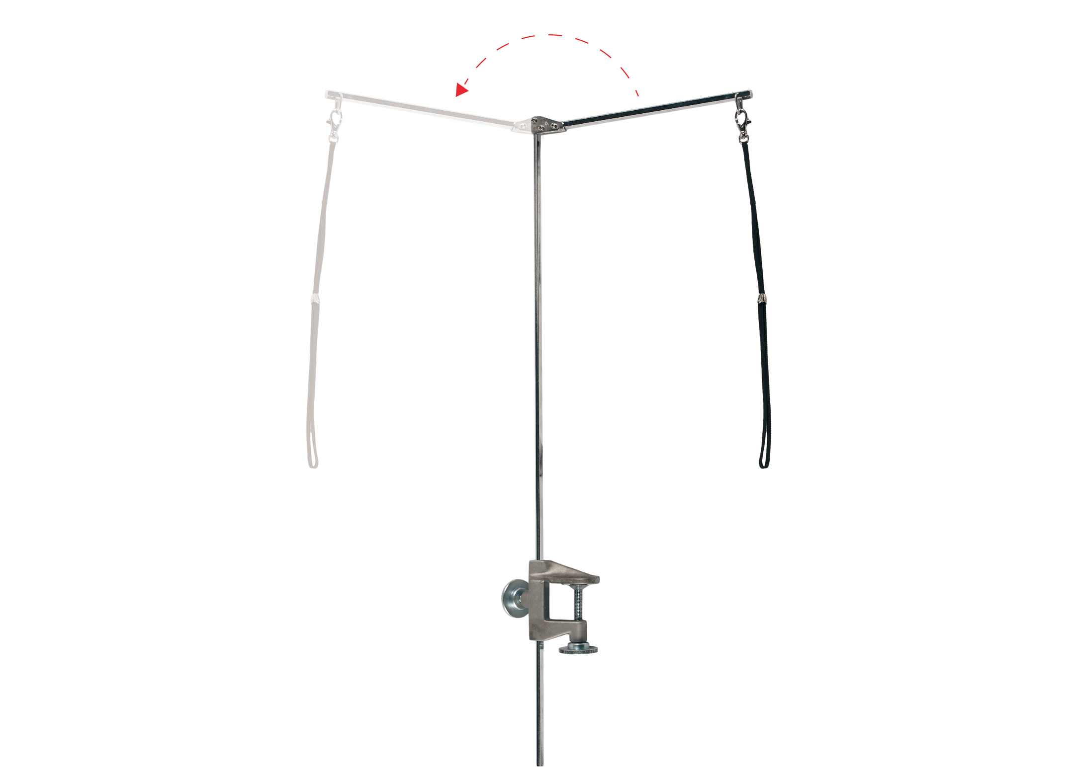 Show Tech Folding Control Post with Noose