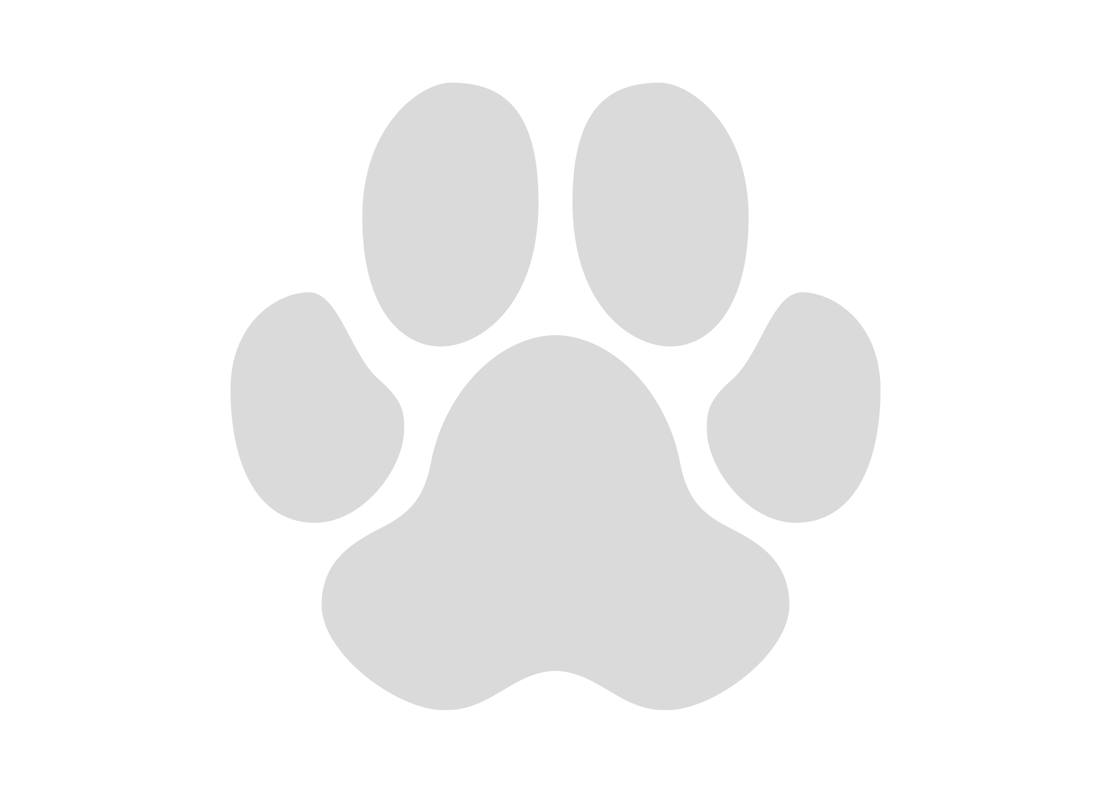 K-design Pawprint Sticker For Groomers