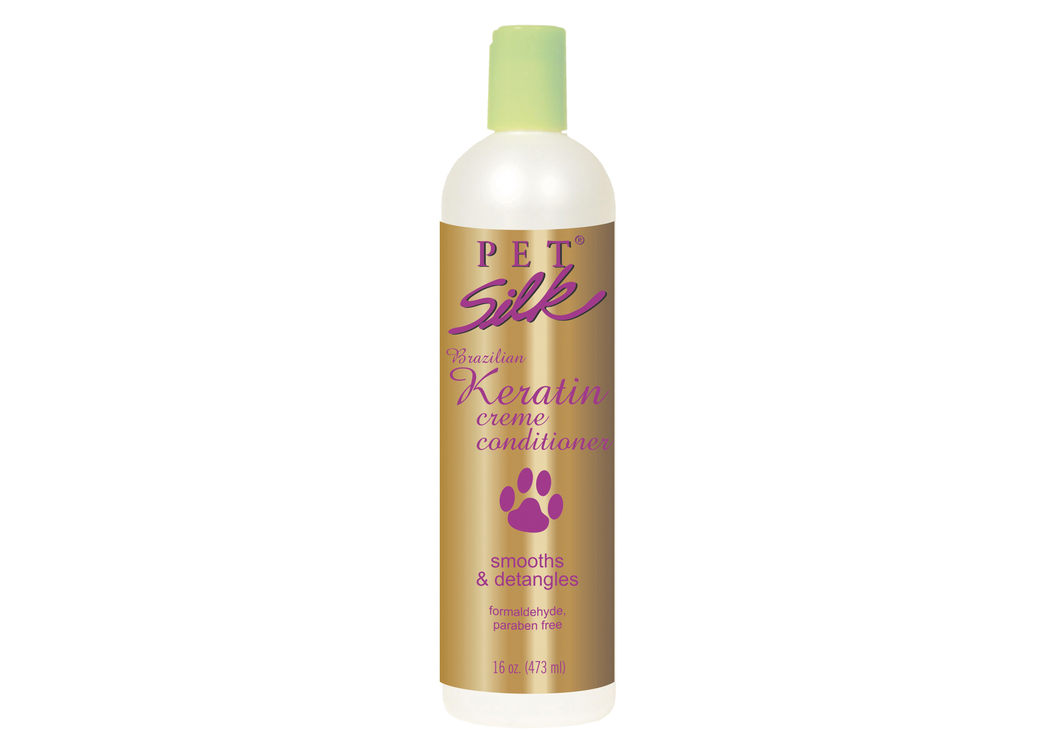 Pet Silk Brazilian Keratin 473 ml Creme Conditioner