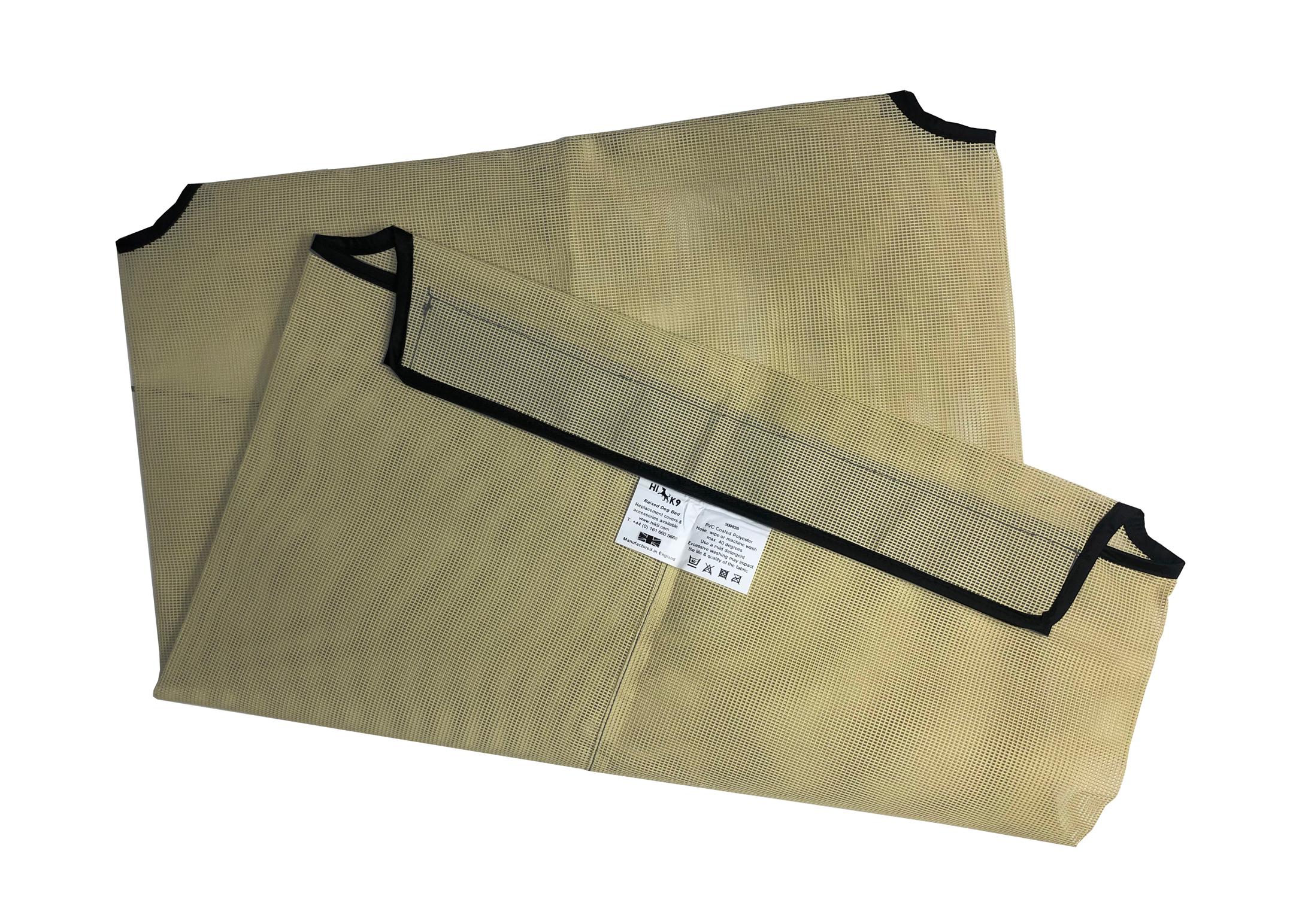 Hi-K9 Mesh Cover Cream Bed