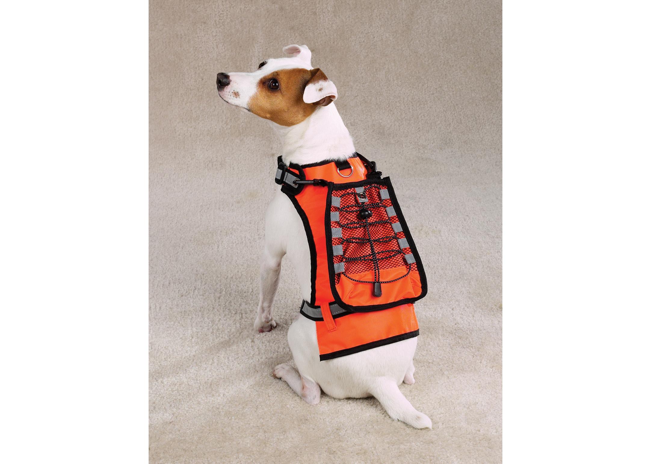 Zack & Zoe Safety Vest with Holder Drink