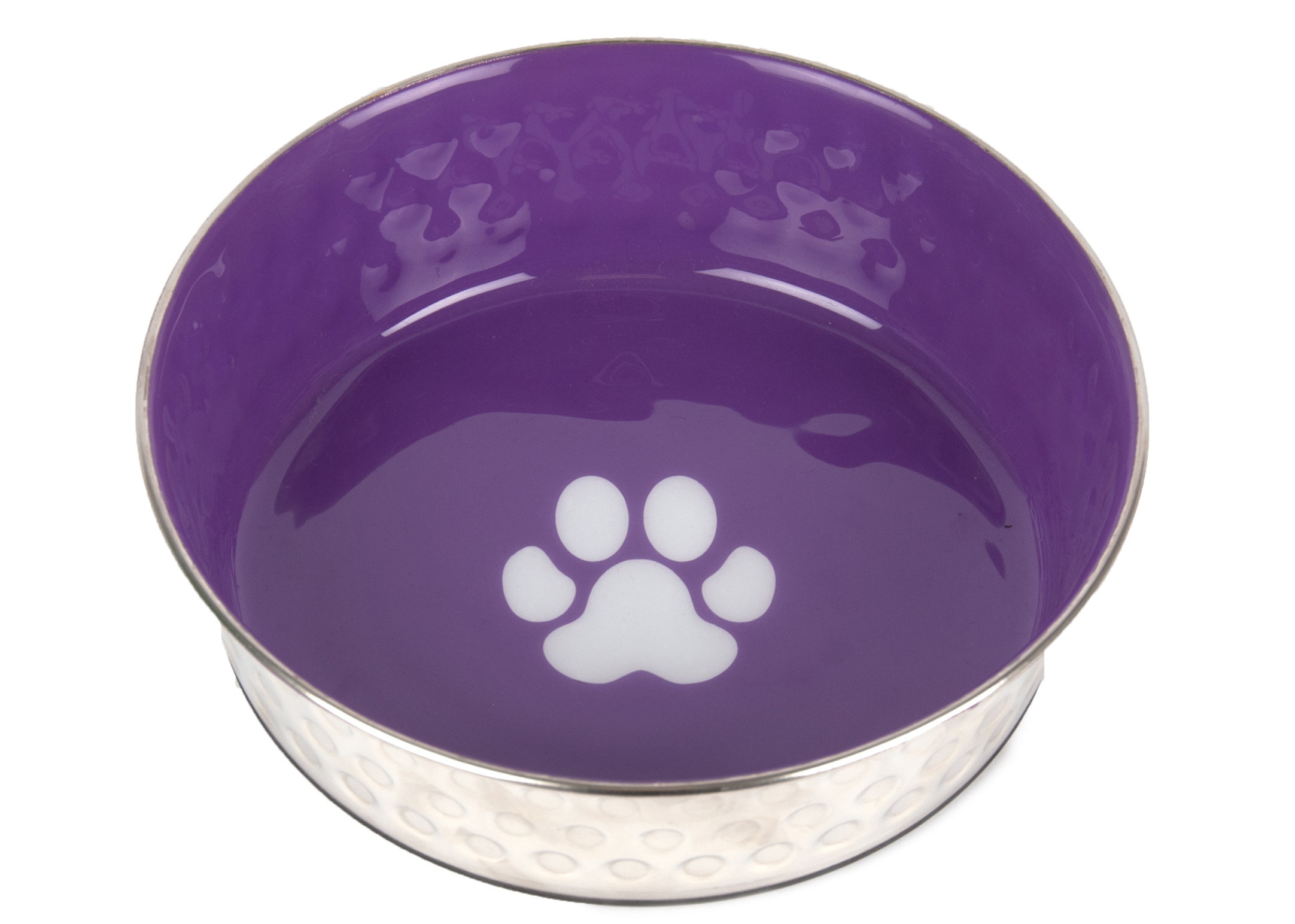 Show Tech Pet Bowl Antislip Purple