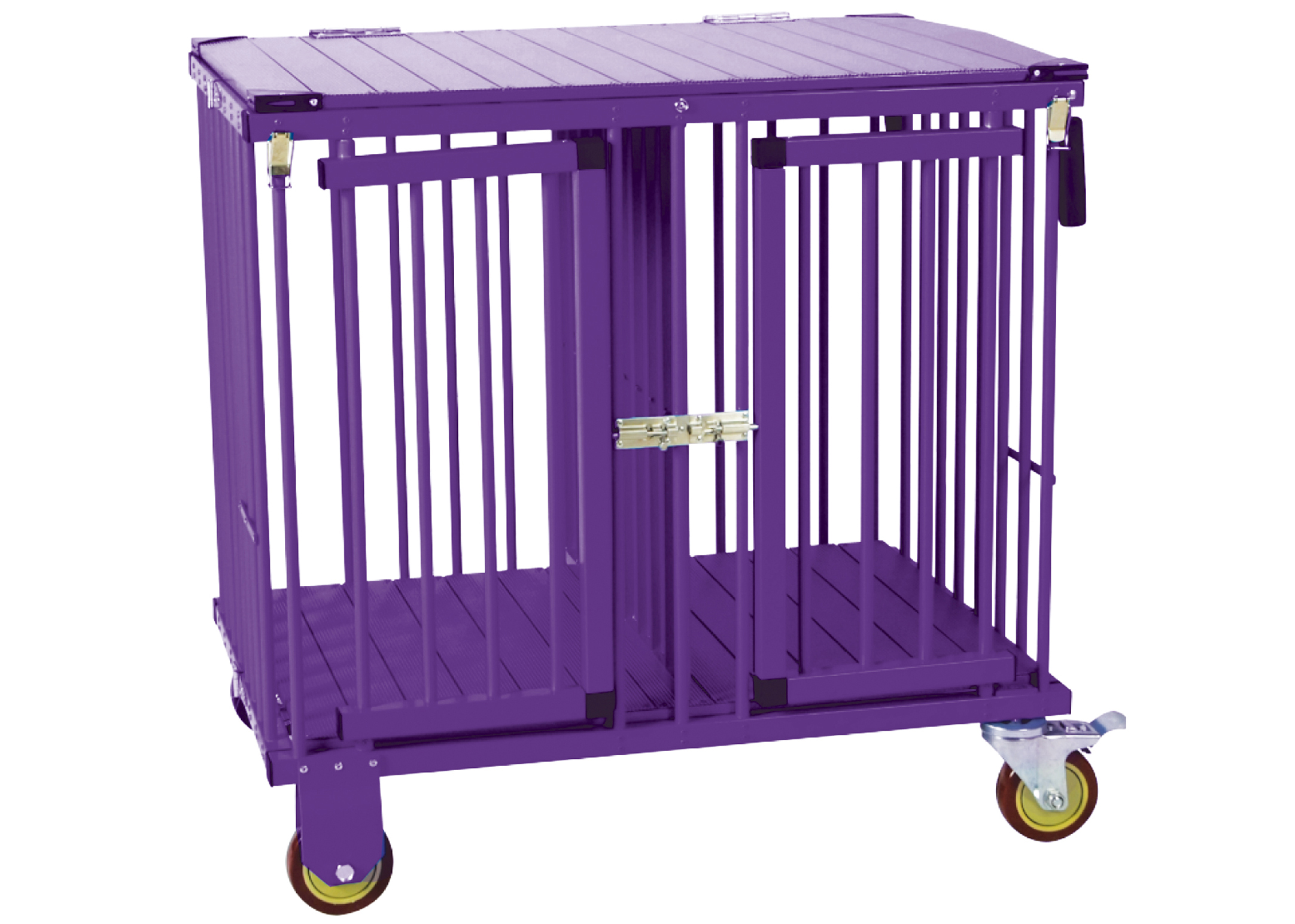 Show Tech All-in-One Show trolley 2 berth Purple 78x54x83cmh Trolley