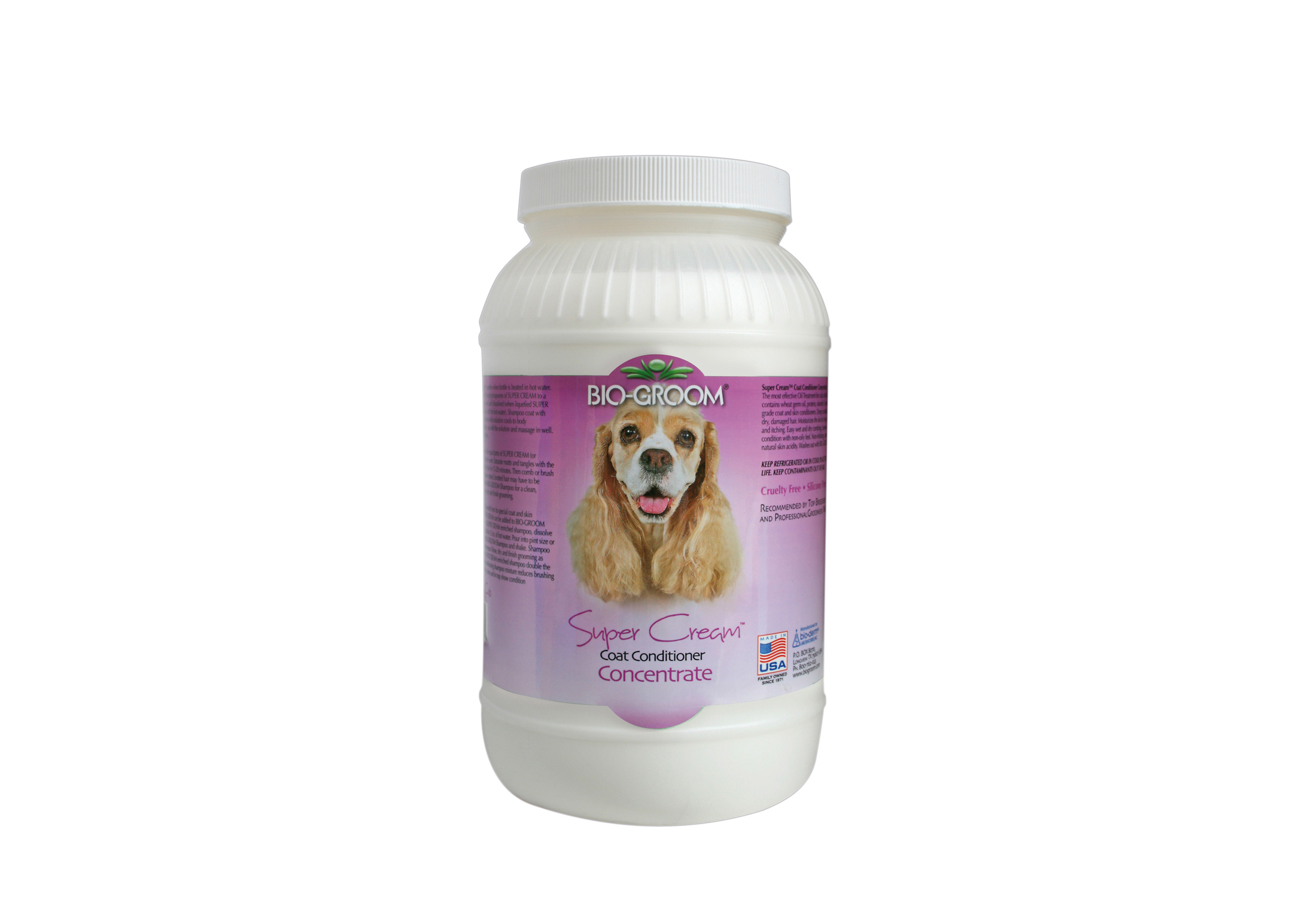 Bio Groom Super Cream Conditioner For Dogs, Cats And Horses