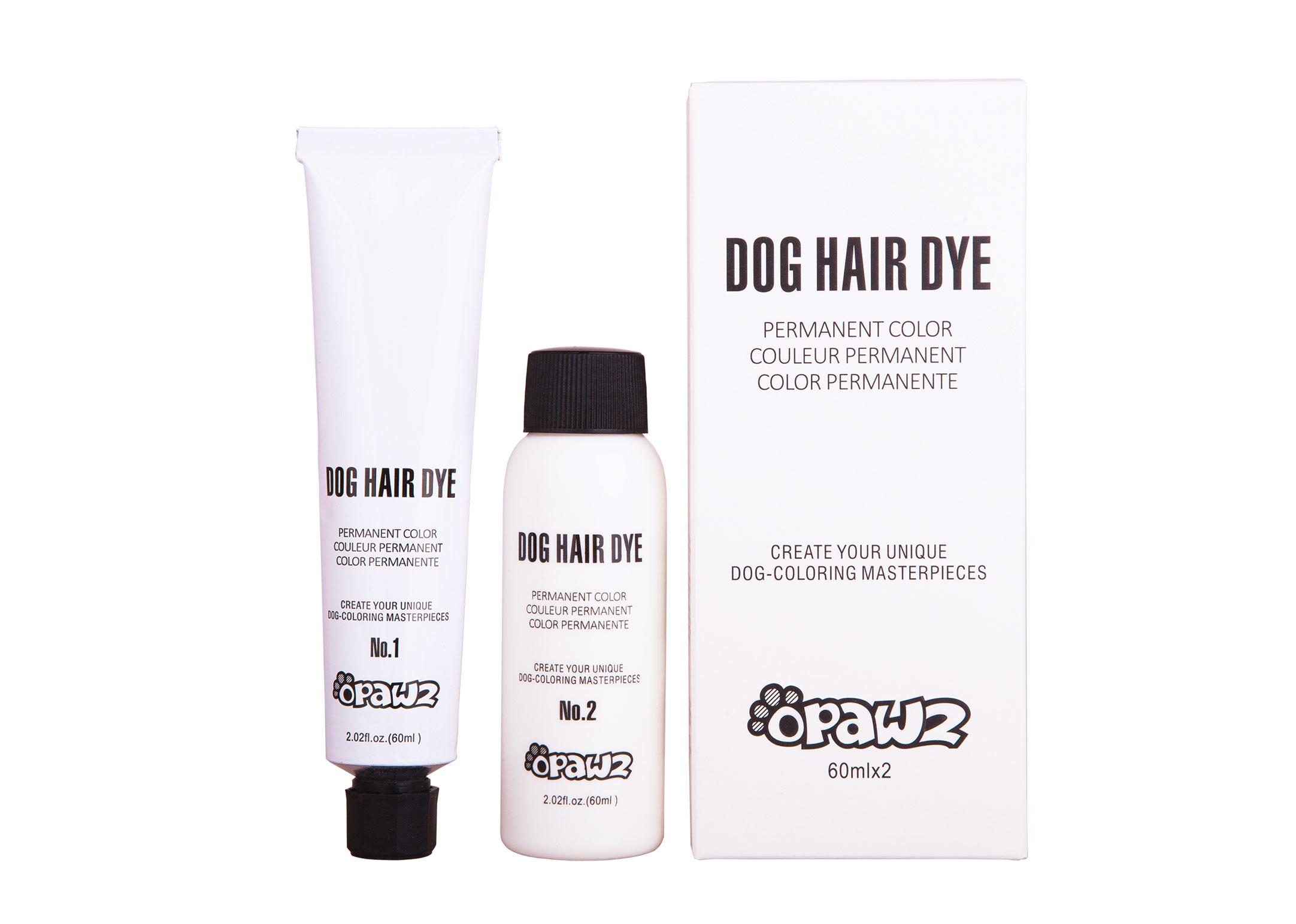 Opawz Hair Dye (Permanent) Super Black 2x60ml