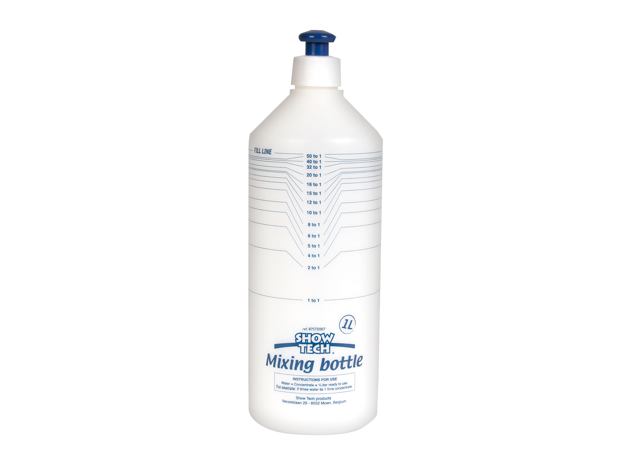 Show Tech Mixing & Dispensing Bottle 1 L Measuring Bottle